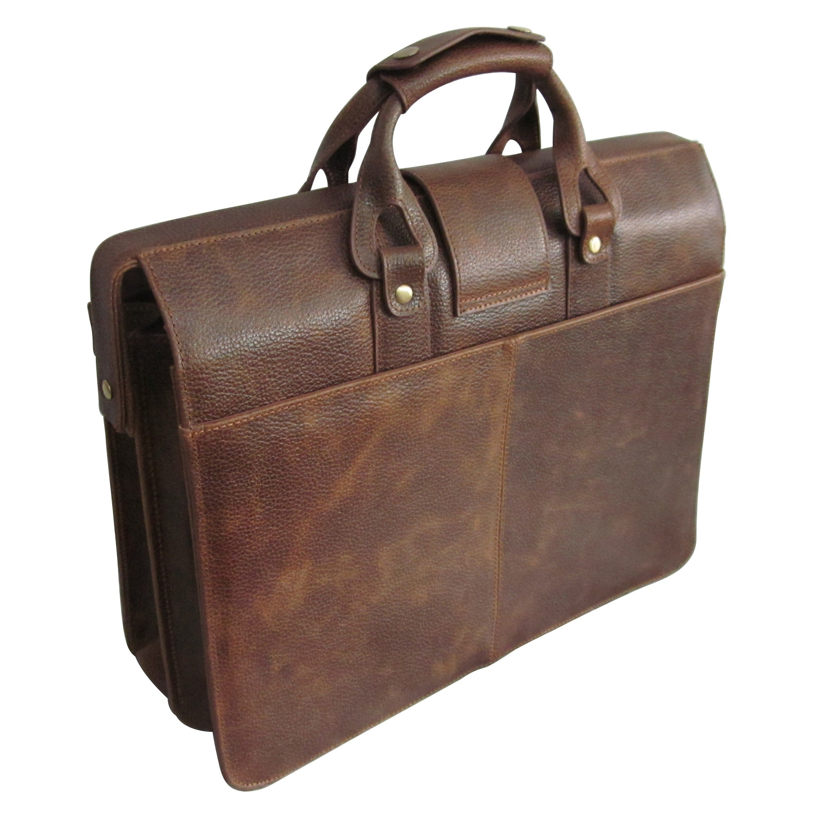 Amerileather Leather Legal Executive Briefcase - Free Shipping Today -  Overstock.com - 12920043