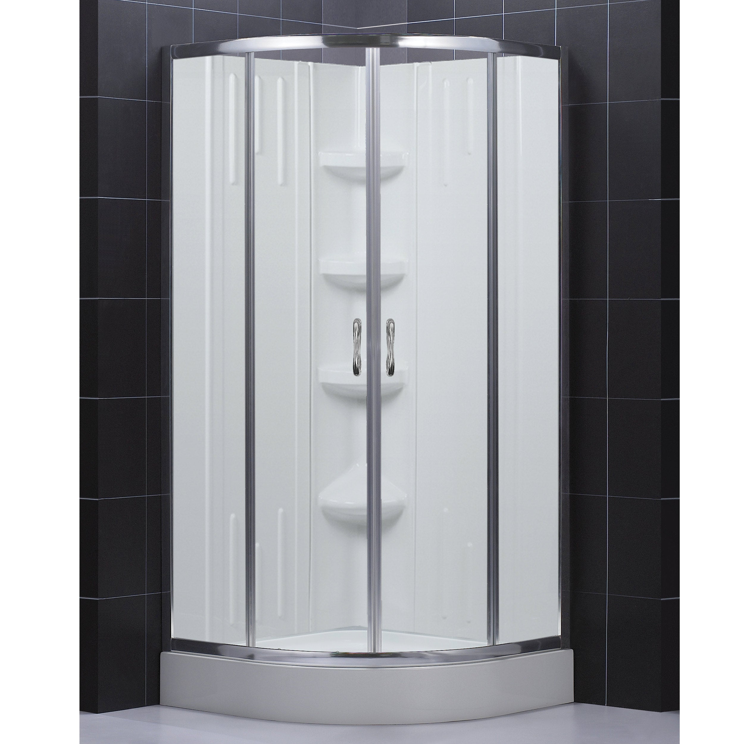 Shop DreamLine 32x32-inch Complete Shower Kit - Free Shipping Today ...