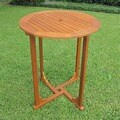 International Caravan Royal Tahiti  Bar-Height Patio Table