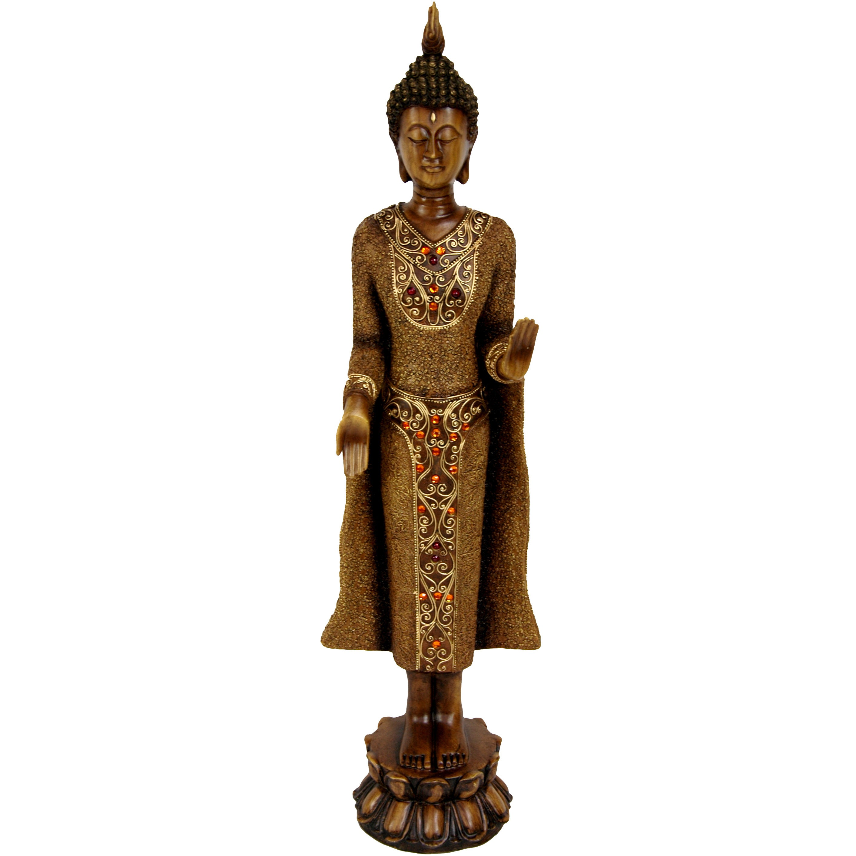 decor podge statues of glitter luxury tree home statue dollar upgrade buddha and modge