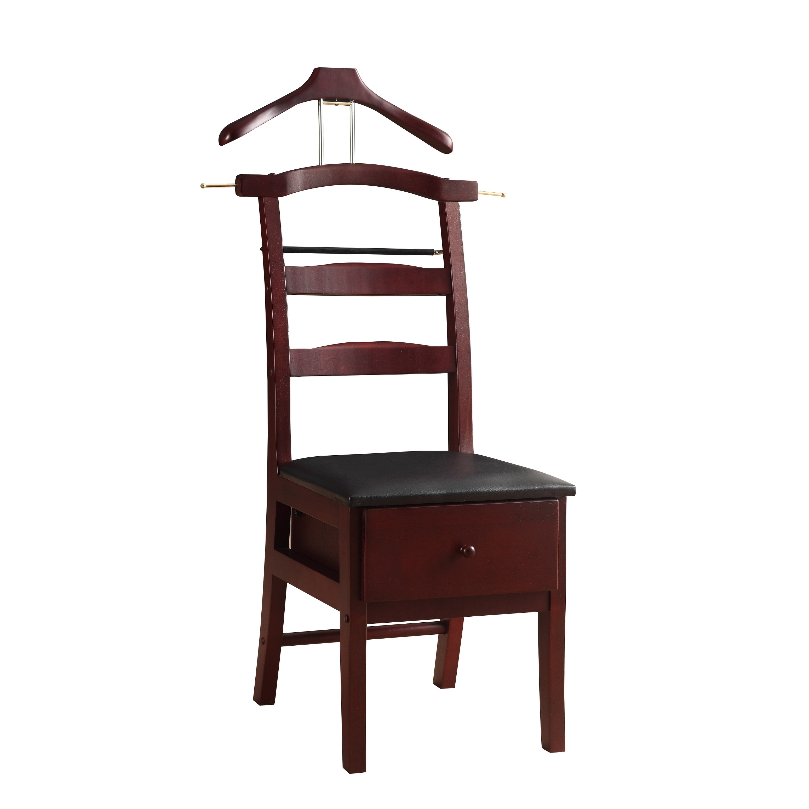 Shop Manchester Mahogany Finish Chair Valet   On Sale   Free Shipping Today    Overstock.com   5084812