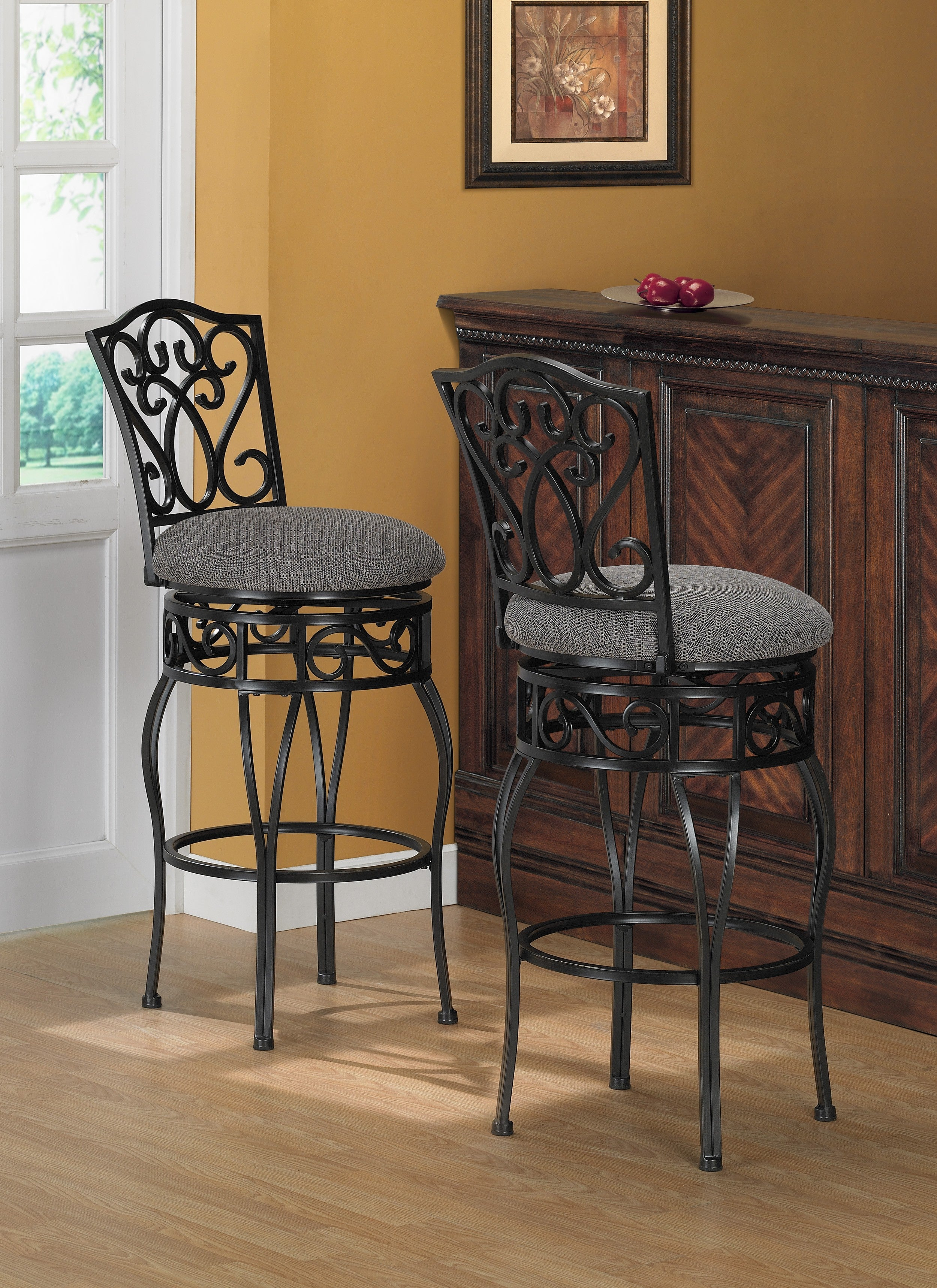 Shop Gracewood Hollow Chase 31 Inch Bar Stools Pack Of 2 Free