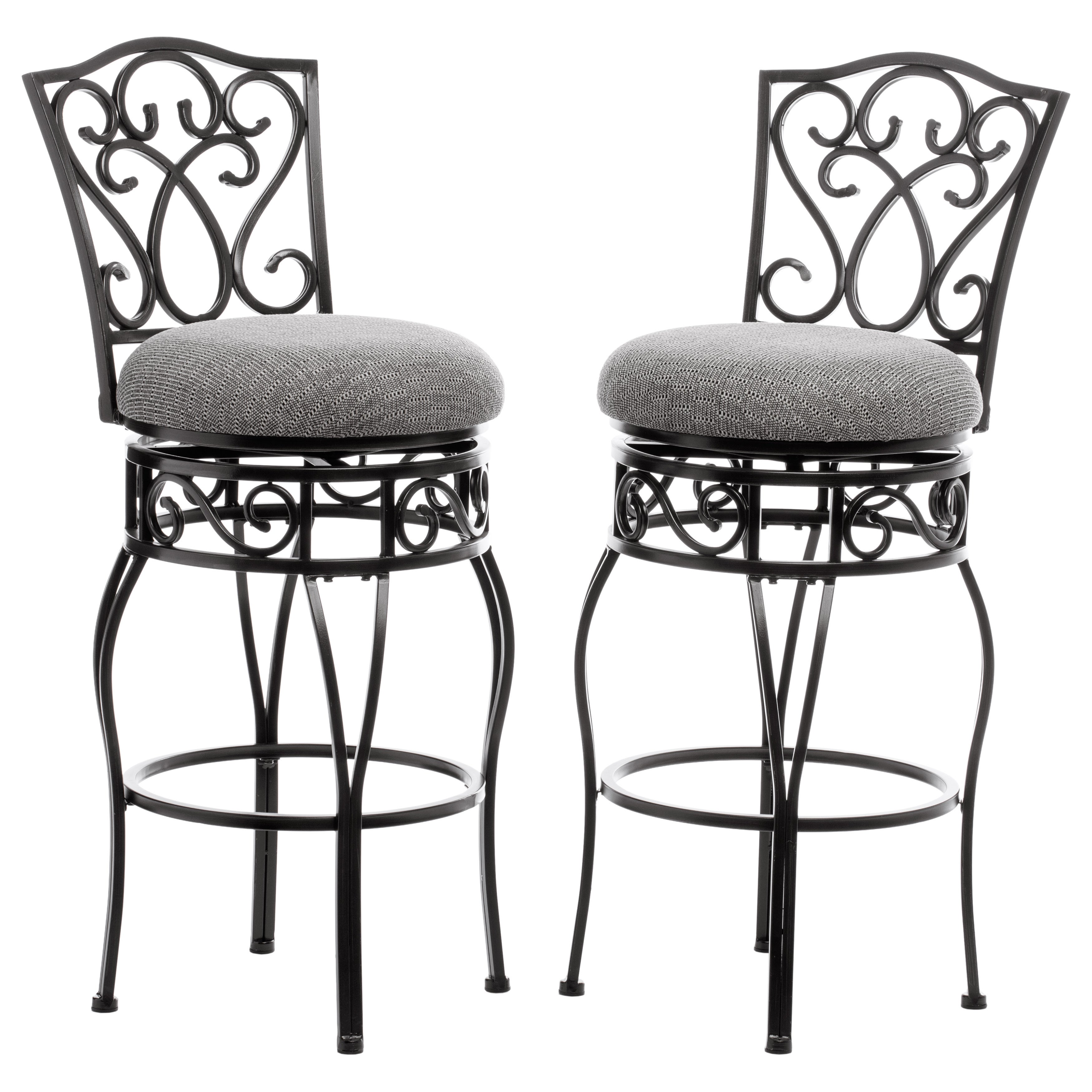 Shop copper grove chase 31 inch bar stools pack of 2 free shipping today overstock com 5095632