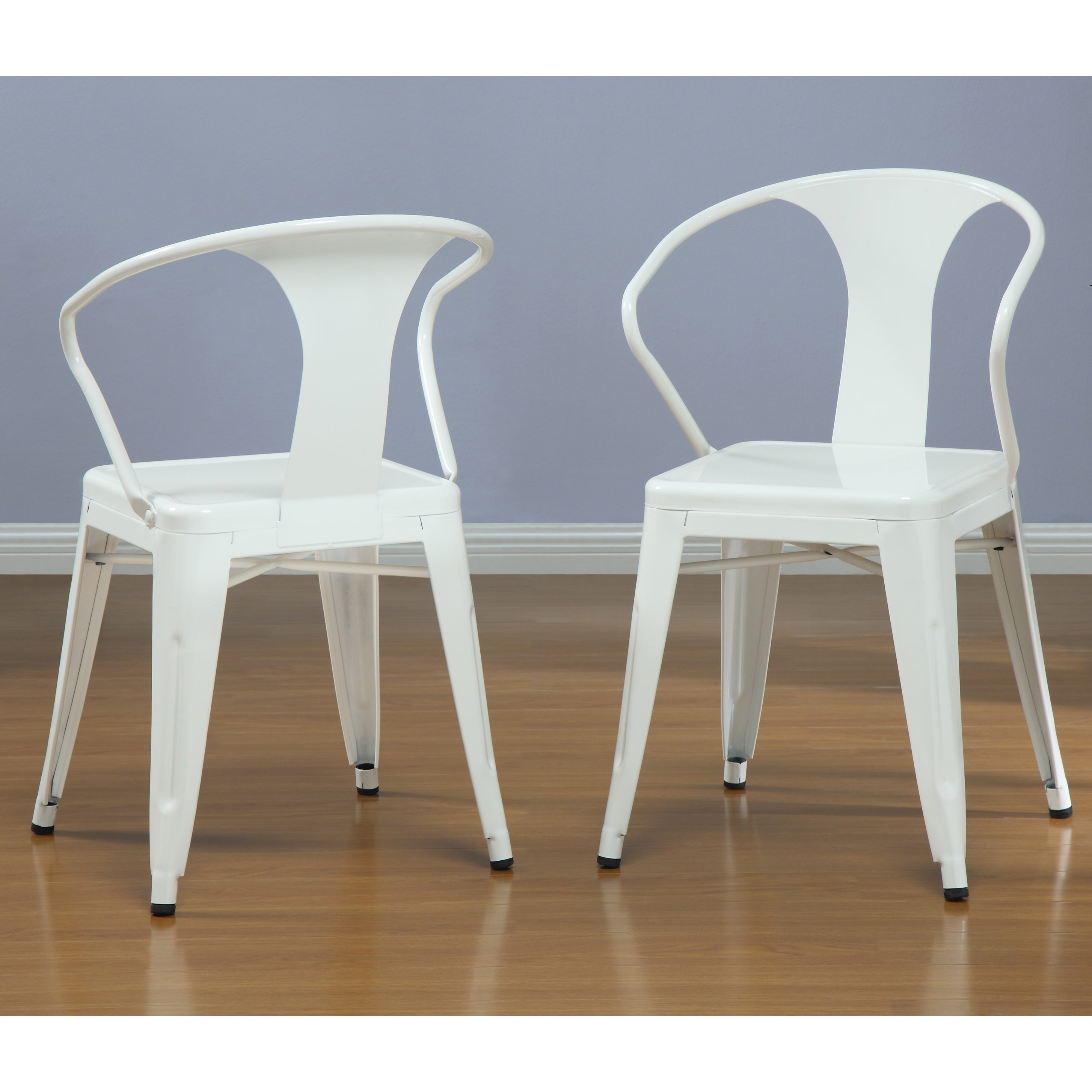 Beautiful White Tabouret Stacking Chairs (Set Of 4)   Free Shipping Today    Overstock.com   12950047