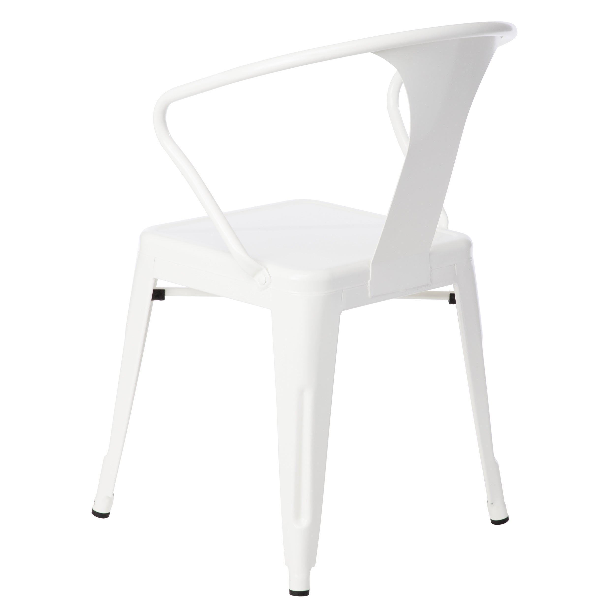 Attractive White Tabouret Stacking Chairs (Set Of 4)   Free Shipping Today    Overstock.com   12950047