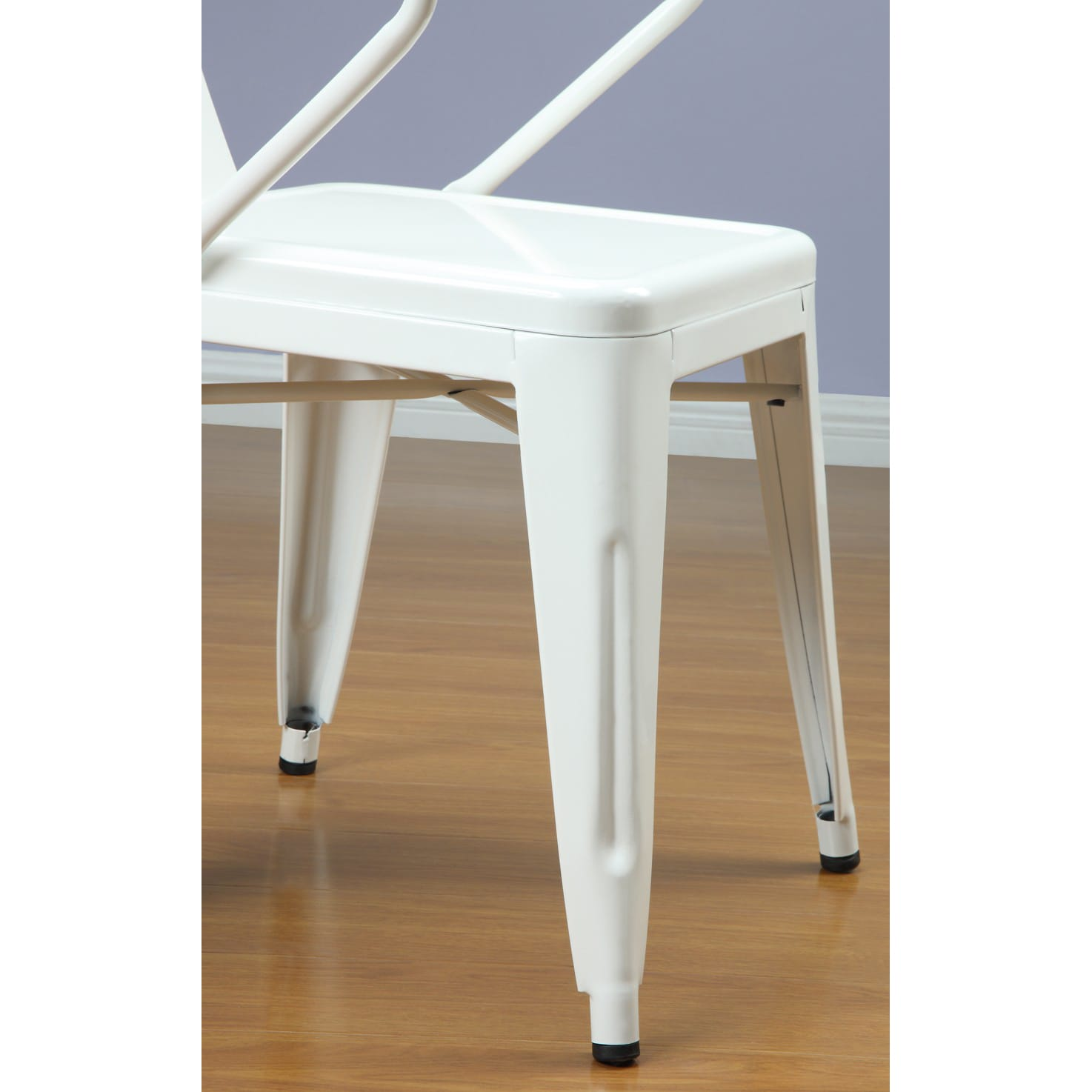 Marvelous White Tabouret Stacking Chairs (Set Of 4)   Free Shipping Today    Overstock.com   12950047