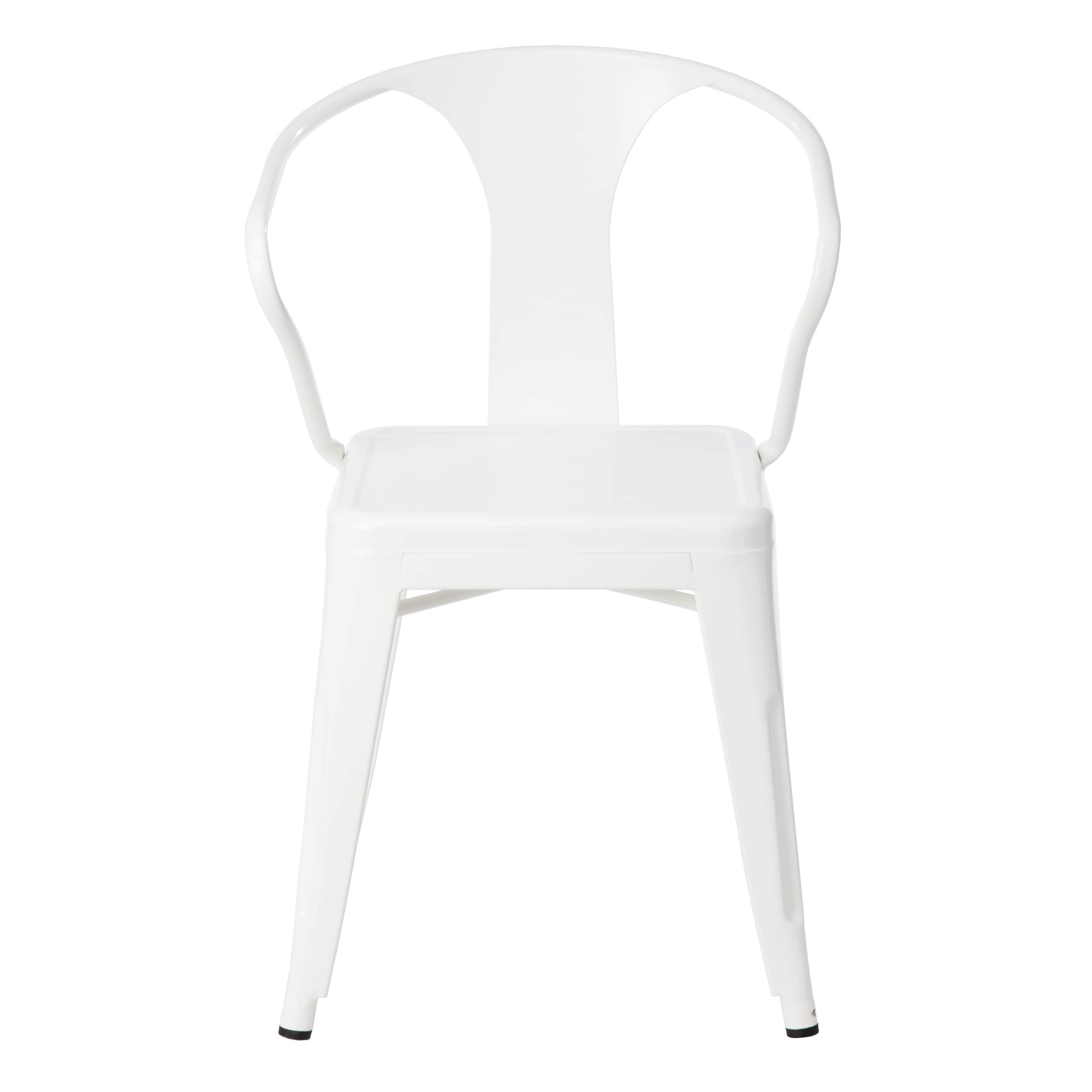 shop carbon loft white tabouret stacking chairs set of 4 free