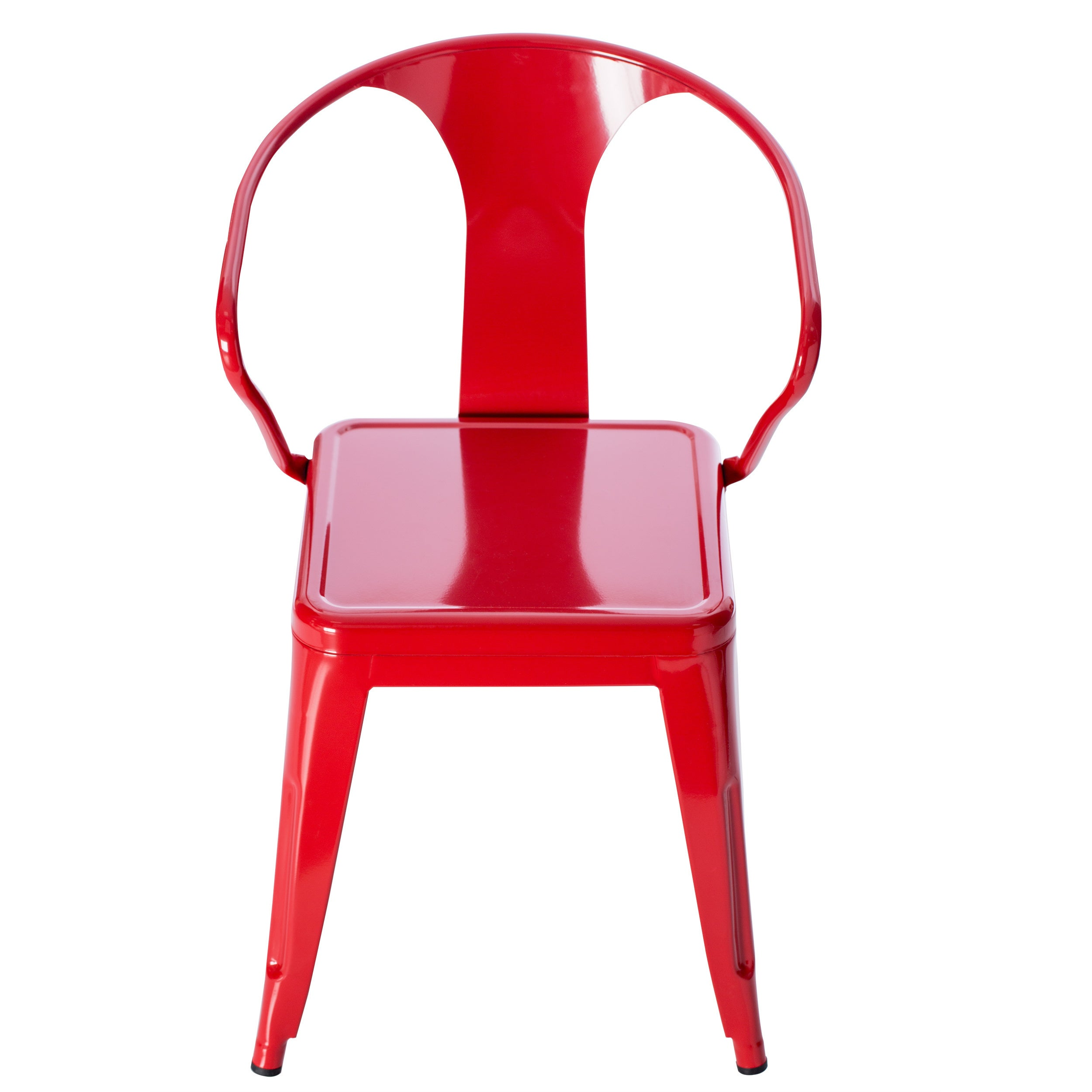 Bon Shop Tabouret Red Tabouret Stacking Chairs (Set Of 4)   Free Shipping Today    Overstock.com   5095637