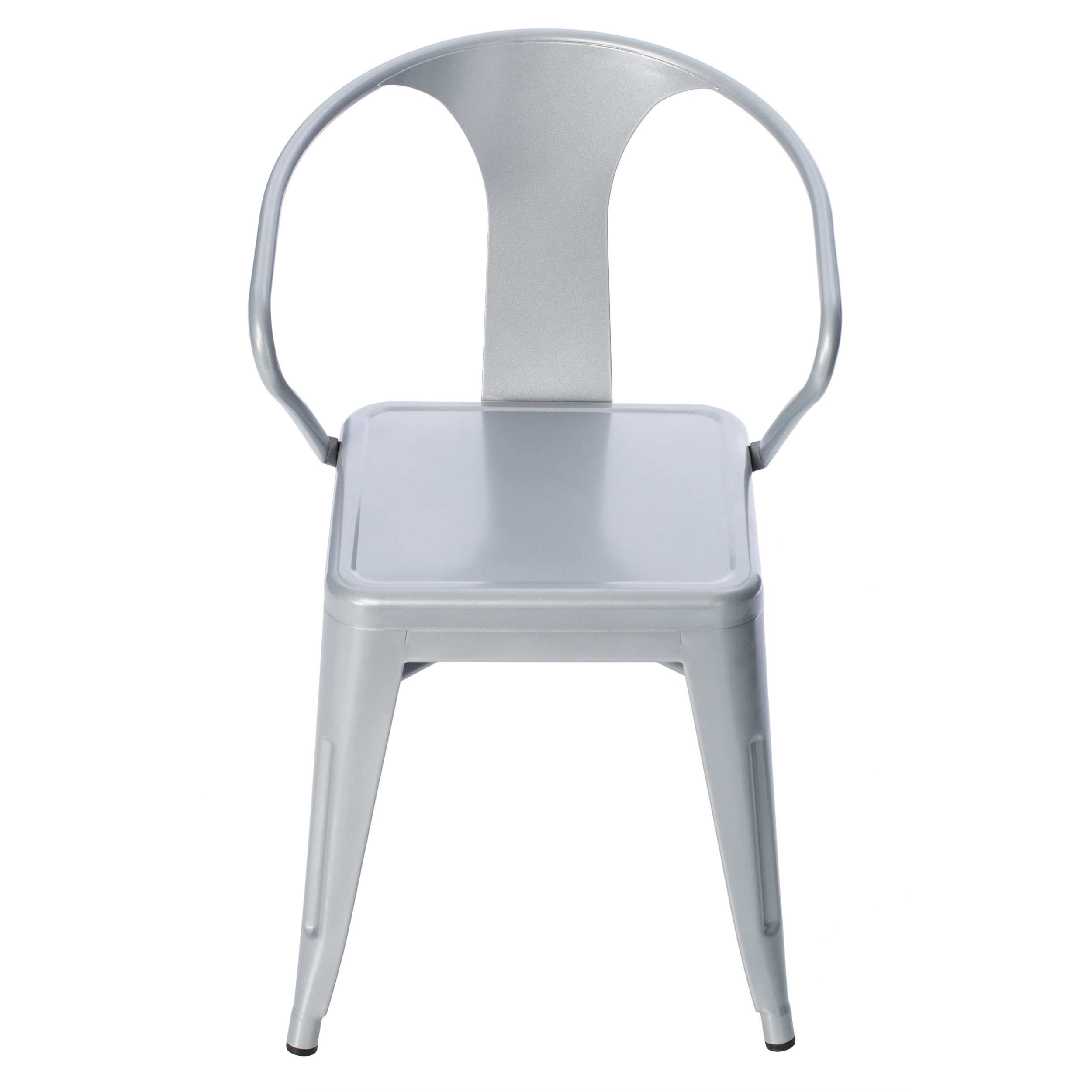 Carbon Loft Silver Tabouret Stacking Chairs (Set Of 4)   Free Shipping  Today   Overstock.com   12950045