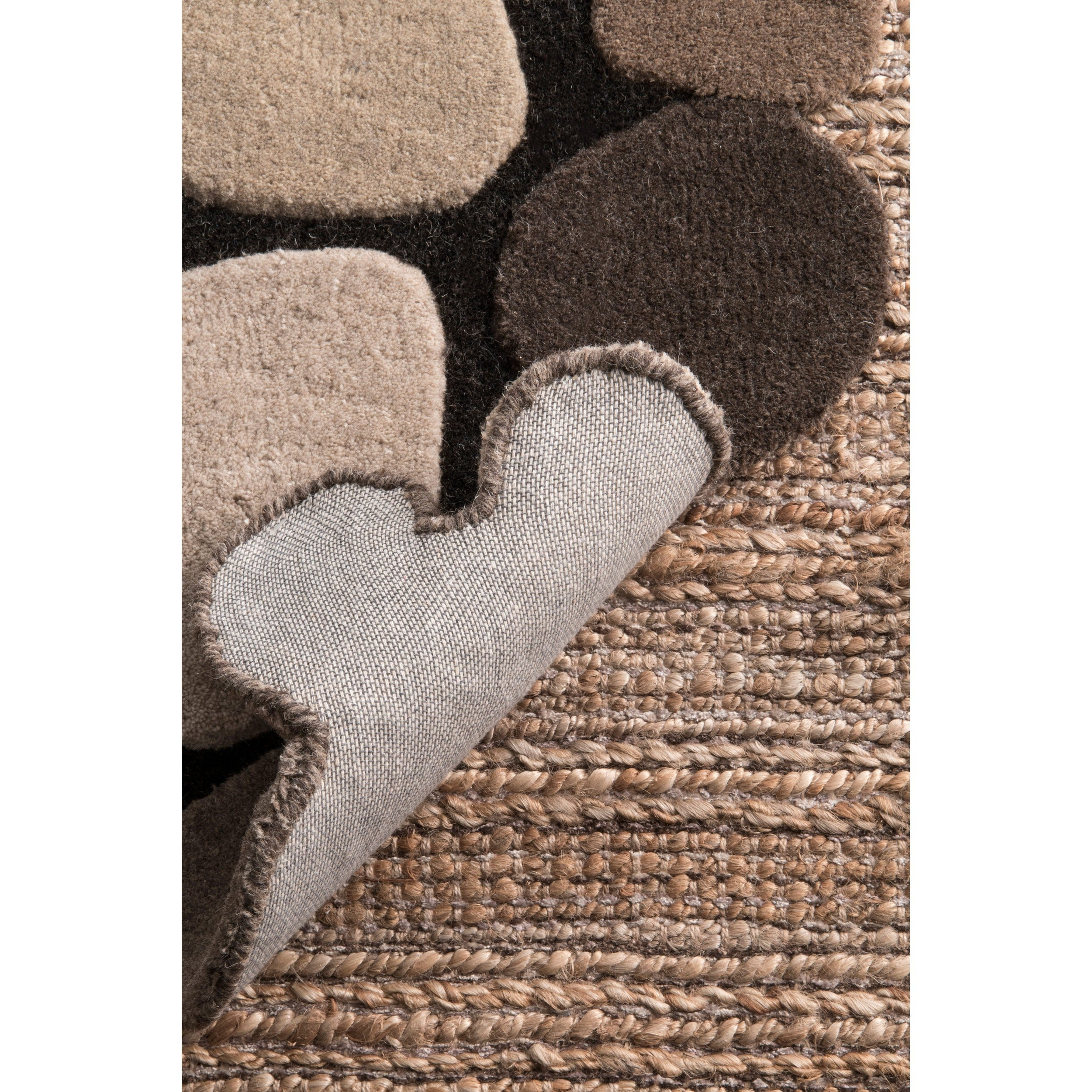 Nuloom Hand Carved Stones And Pebbles Wool Rug 7 6 X 9 Free Shipping Today 12952380