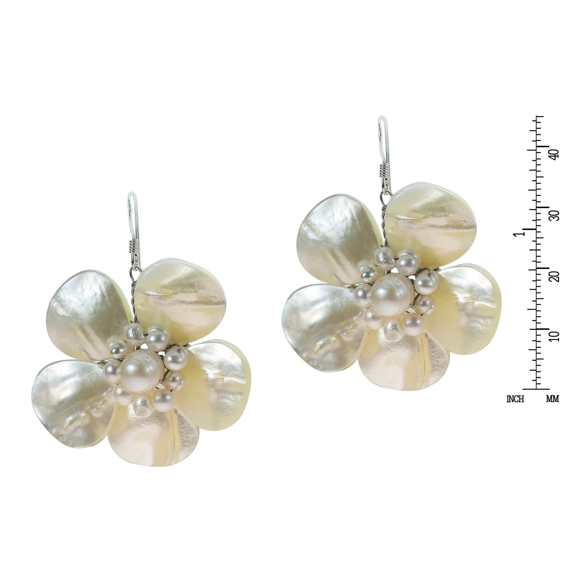 pearls en pearl silver earrings peral us with tous