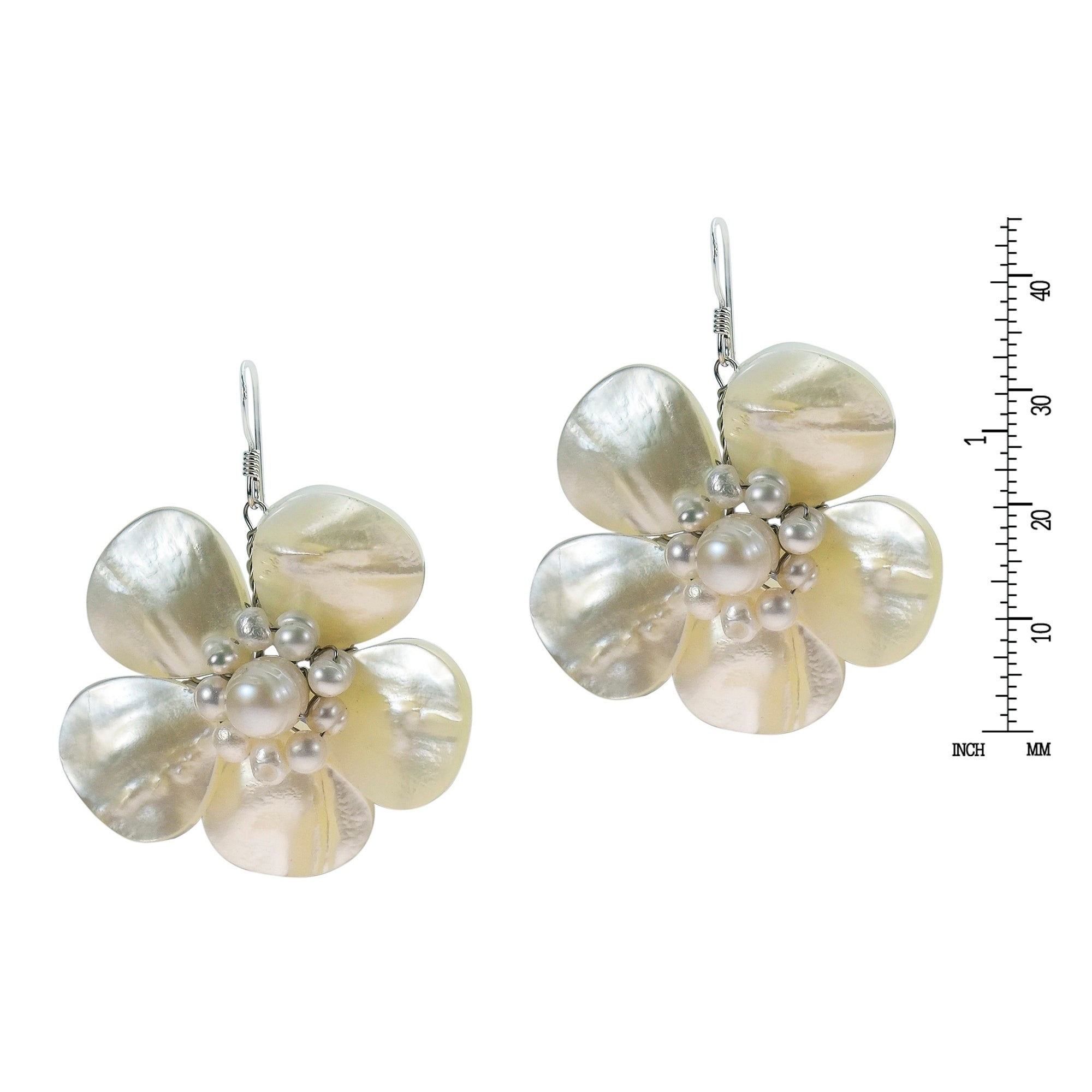 earrings peral pearl pandora ben jewelry luminous crystal drops