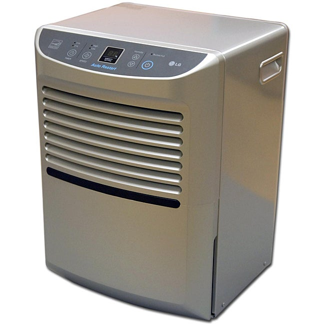 shop lg ld450eal 45 pint low temperature dehumidifier refurbished rh overstock com LG Dehumidifier LHD45EL Parts LG Dehumidifier Customer Service