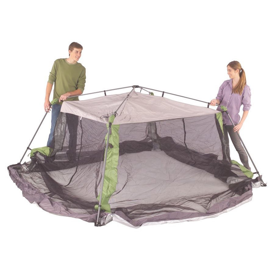 Coleman 10x10-foot Instant Screen Shelter - Free Shipping Today - Overstock.com - 12986270  sc 1 st  Overstock.com & Coleman 10x10-foot Instant Screen Shelter - Free Shipping Today ...