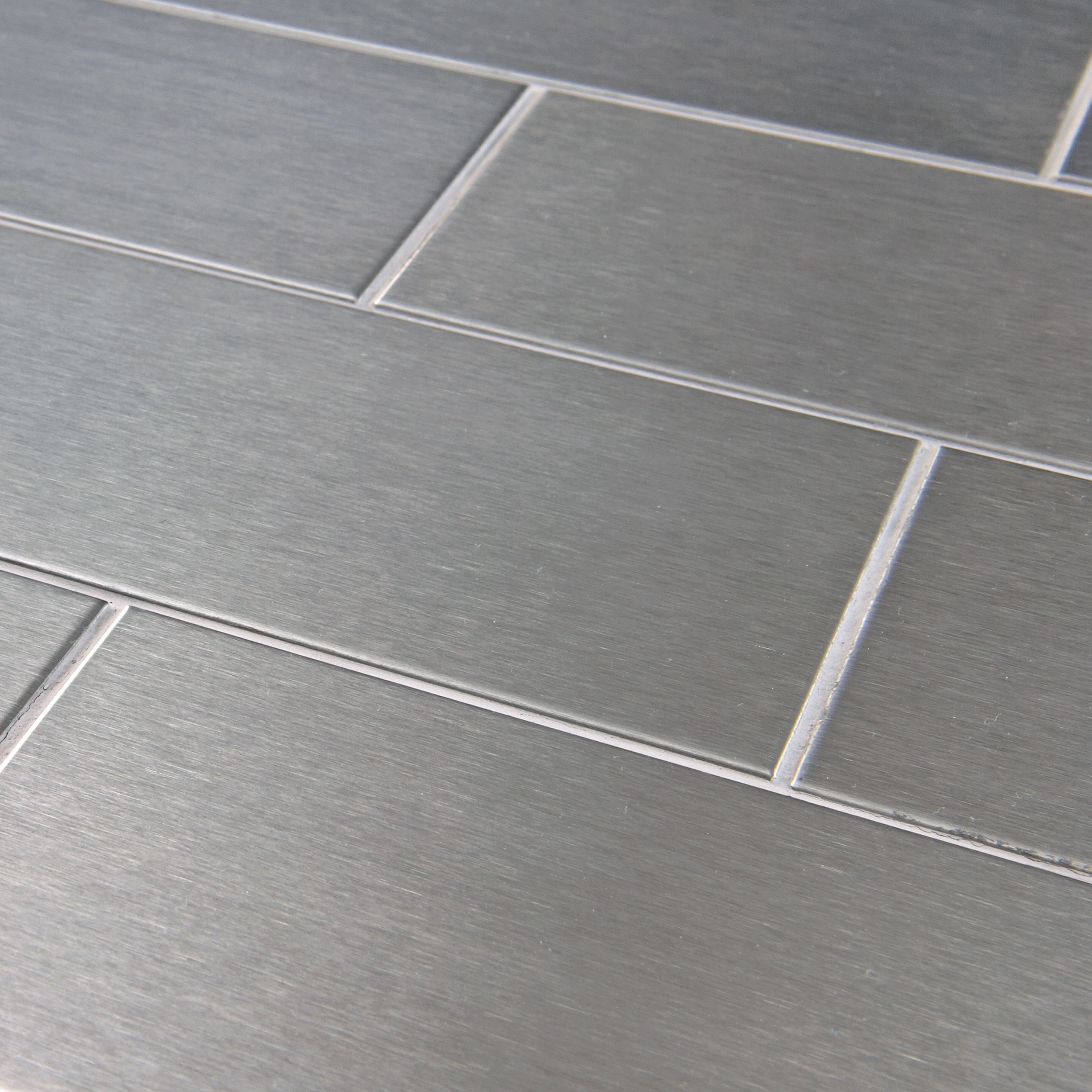 Somertile 3x6 inch alloy subway stainless steel over porcelain somertile 3x6 inch alloy subway stainless steel over porcelain mosaic wall tile 64 tiles8 sqft free shipping today overstock 12988840 dailygadgetfo Choice Image