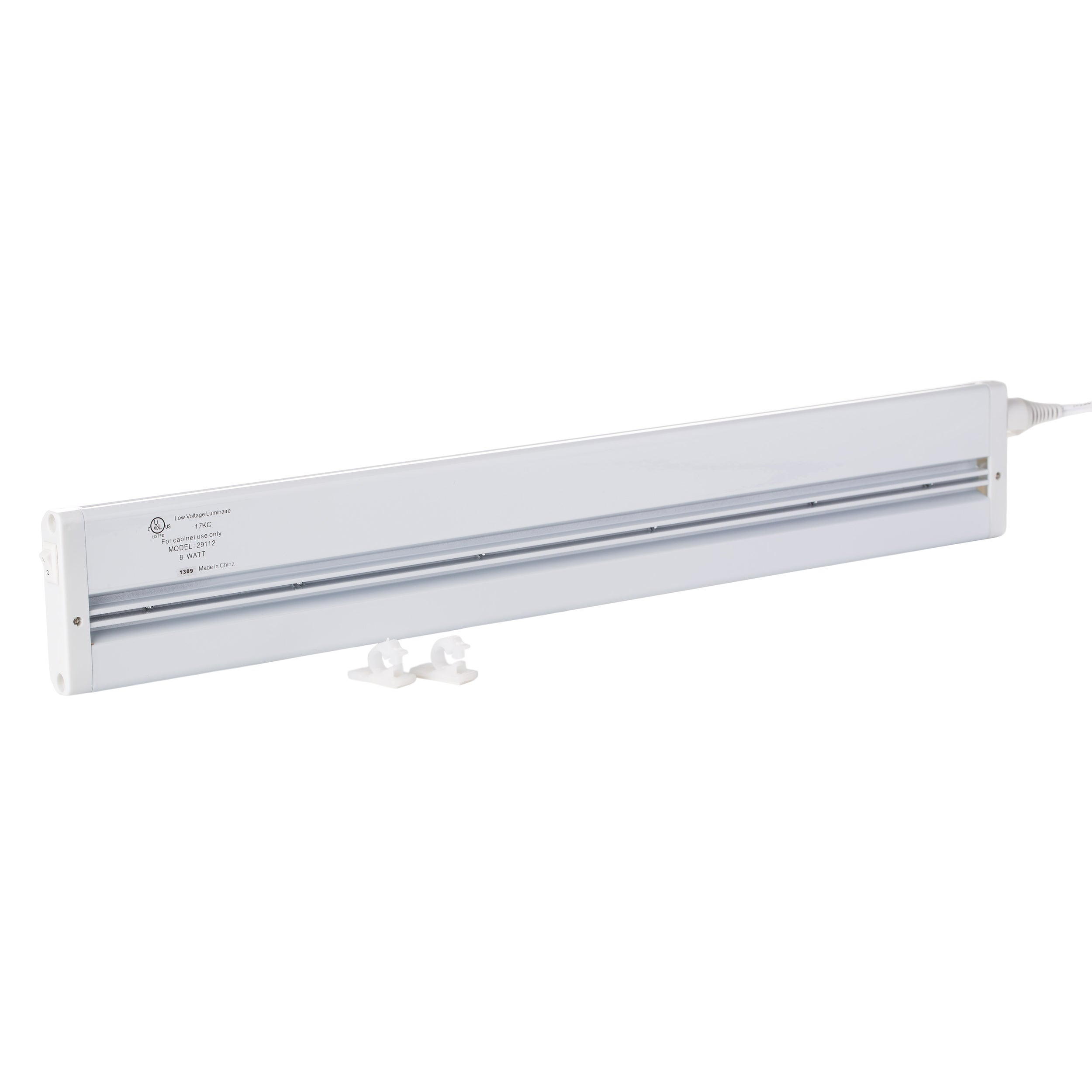 Shop White LED 18 Inch Under Cabinet Light   Free Shipping On Orders Over  $45   Overstock.com   5147616