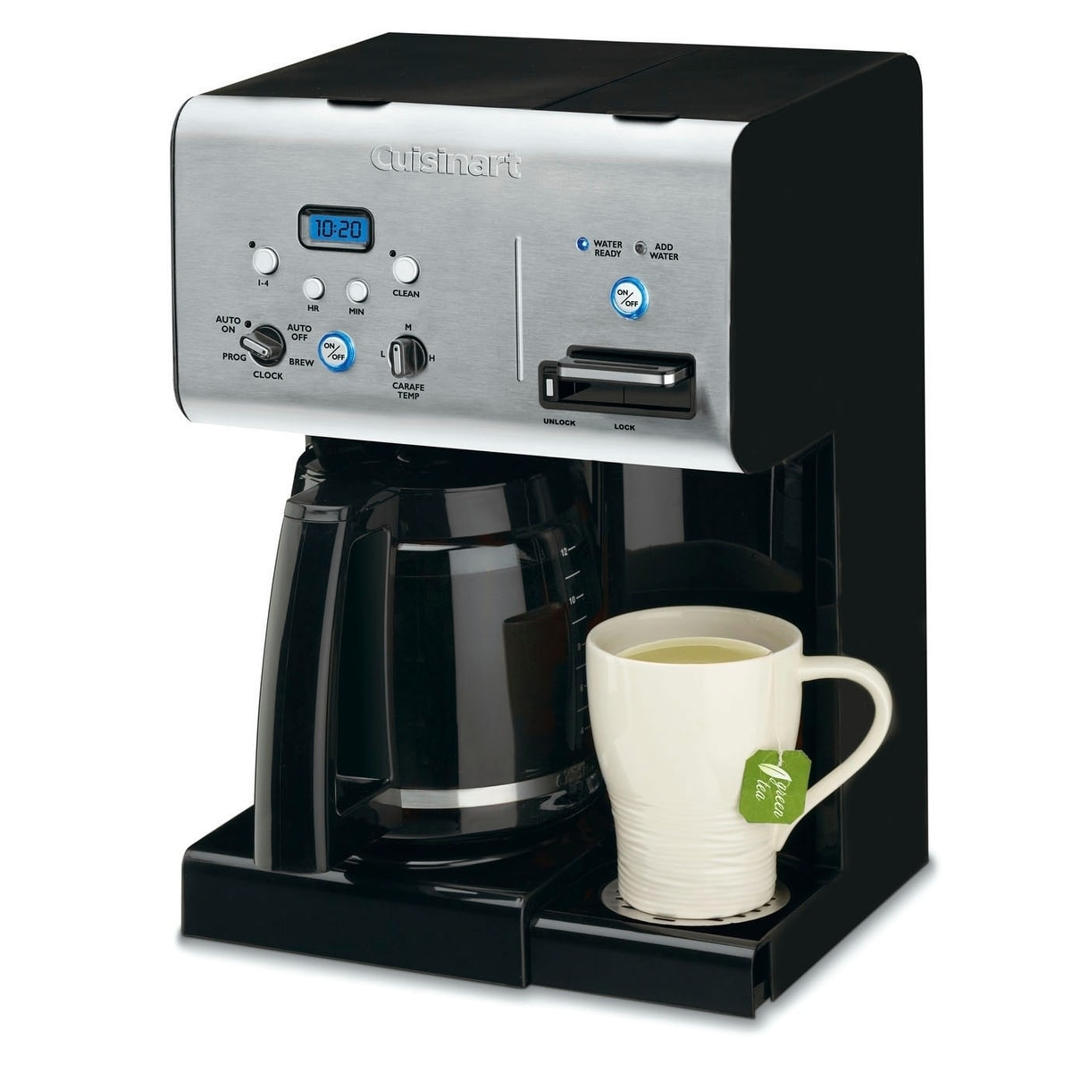 0fdf215ee5e Shop Cuisinart CHW-12 12-cup Programmable Coffeemaker with Hot Water ...
