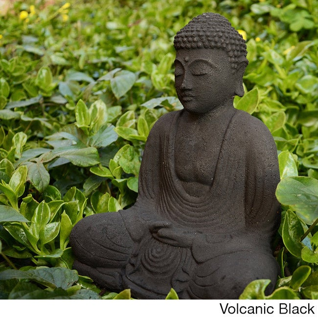Shop Garden Buddha Sculpture (Indonesia) - On Sale - Free Shipping ...