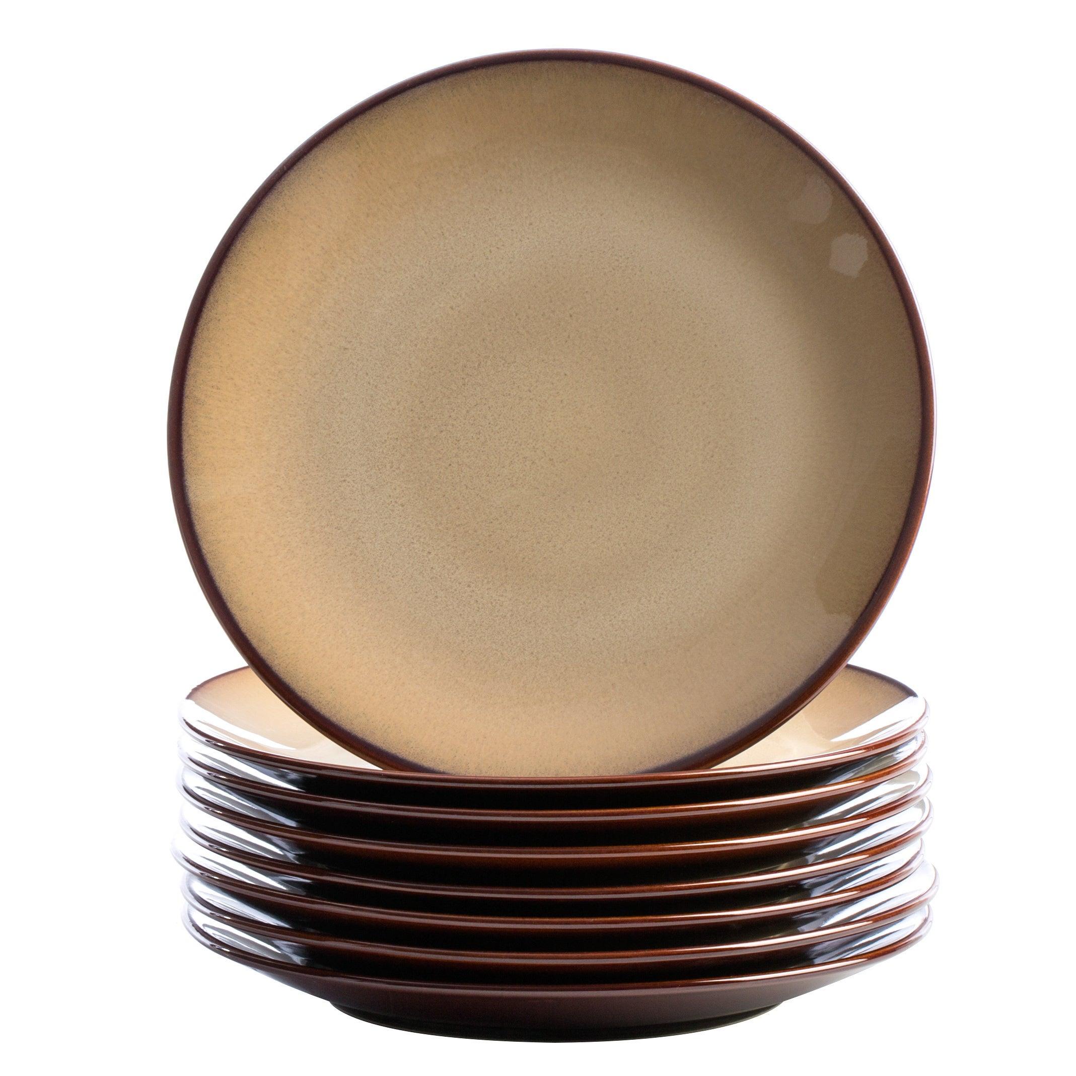 Sango 40-piece Nova Brown Stoneware Dinnerware Set - Free Shipping Today - Overstock - 13005590  sc 1 st  Overstock & Sango 40-piece Nova Brown Stoneware Dinnerware Set - Free Shipping ...