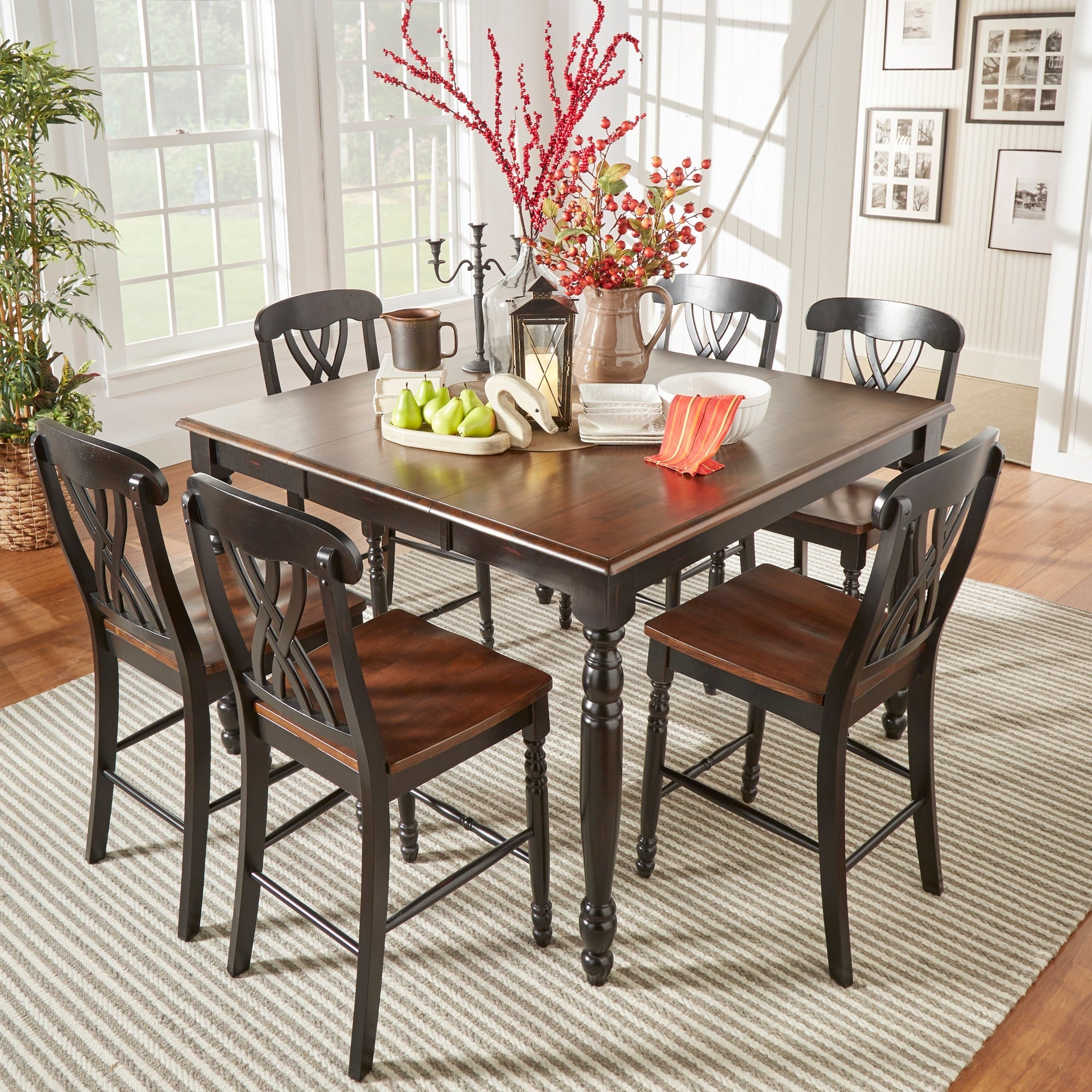 Mackenzie Counter-height Extending Dining Set by iNSPIRE Q Classic - Free  Shipping Today - Overstock.com - 13009900