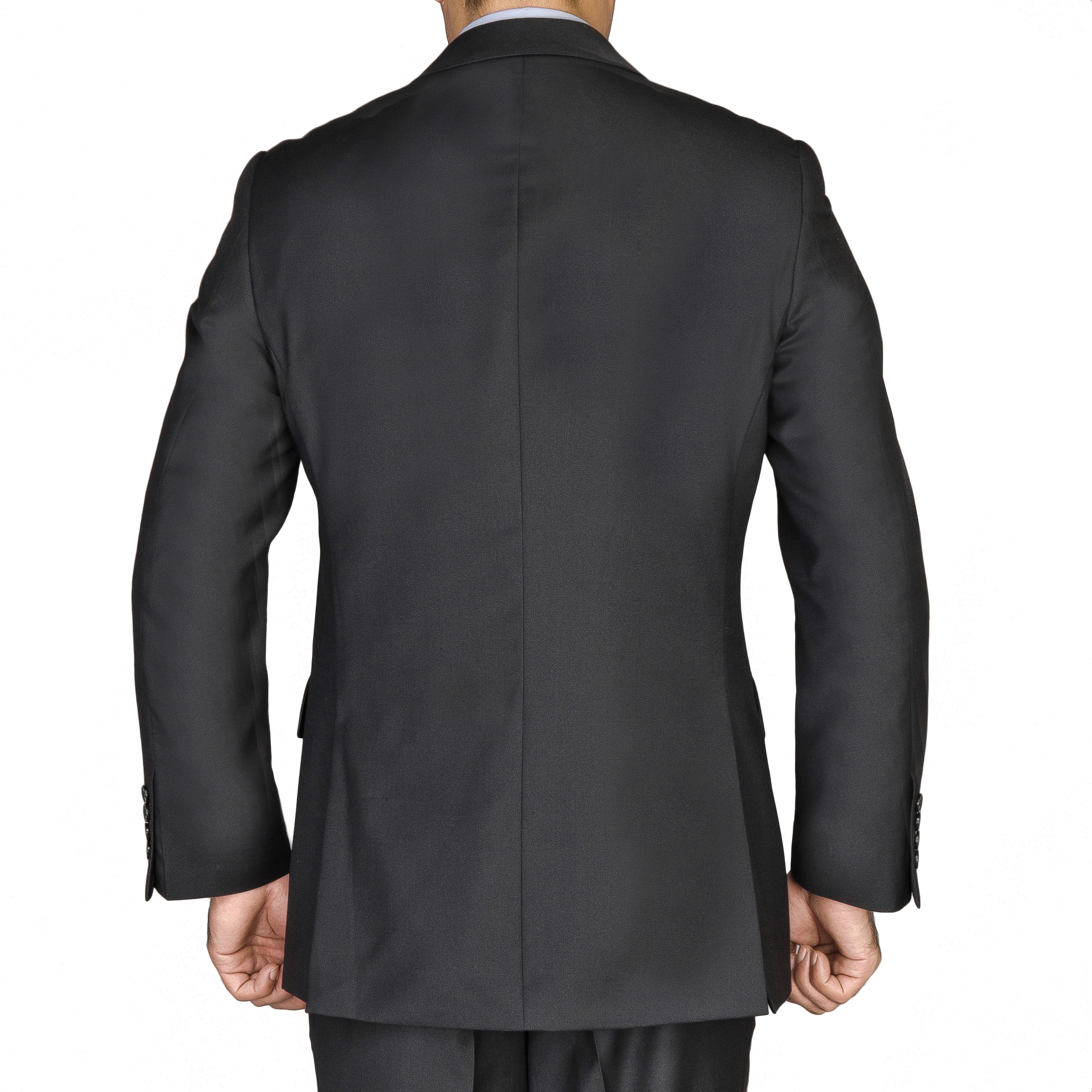 Shop Men S Black Viscose 3 Piece Suit Free Shipping Today