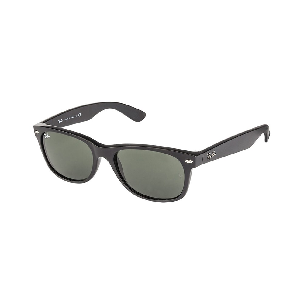 f6b977add7 Shop Ray-Ban New Wayfarer Classic RB 2132 Unisex Black Frame Green Classic  Lens Sunglasses - Free Shipping Today - Overstock - 5173946