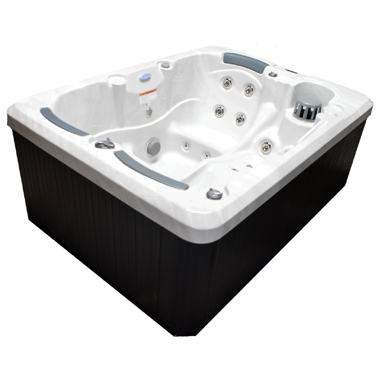 Home and Garden 3-person 38-jet Spa with Stainless Jets and Ozone ...