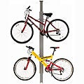 Sport Solutions Up and Away Floor-to-ceiling Aluminum Storage Bike Rack