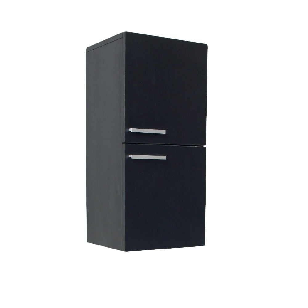 Incroyable Fresca Black Bathroom Linen Cabinet Free Shipping Today