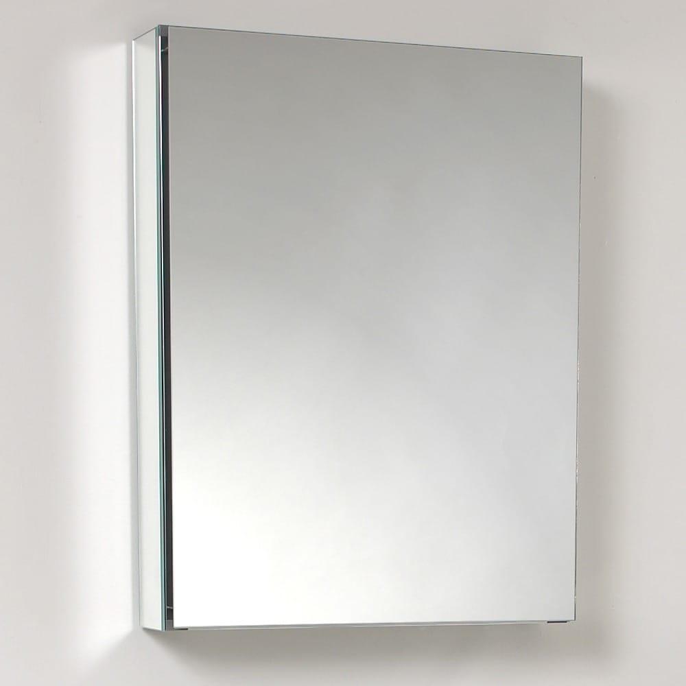 shop fresca small bathroom mirror medicine cabinet free shipping rh overstock com Bathroom White Mirror Medicine Cabinet Bathroom Medicine Cabinet Mirror with Lights
