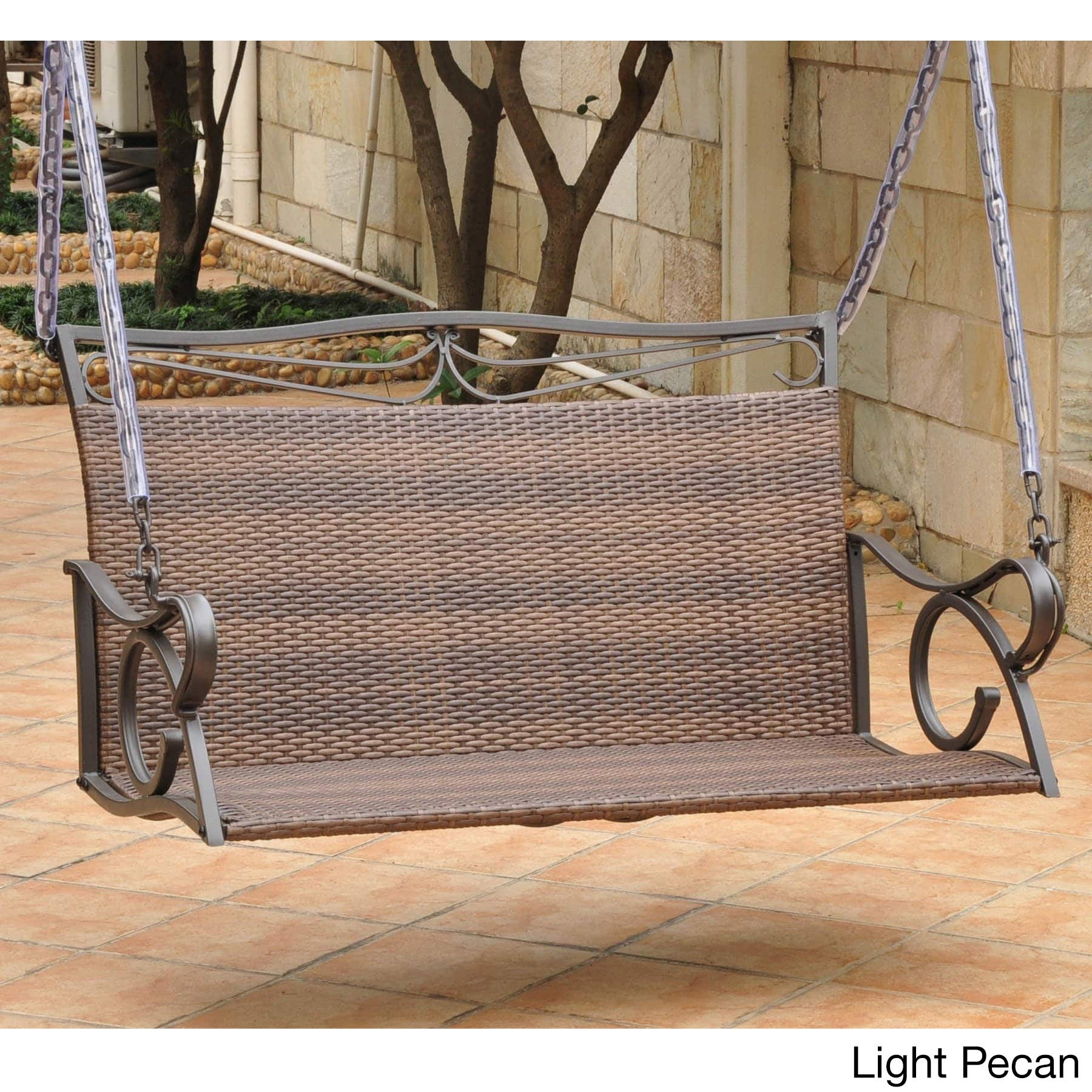 dark kh swing retail resin htm seat with p porch price brown cushion wicker khaki modern