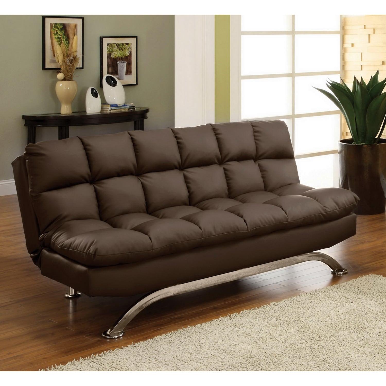 Companies Wellington Leather Furniture Promote American Of America Pascoe Bicast Sofa Futon