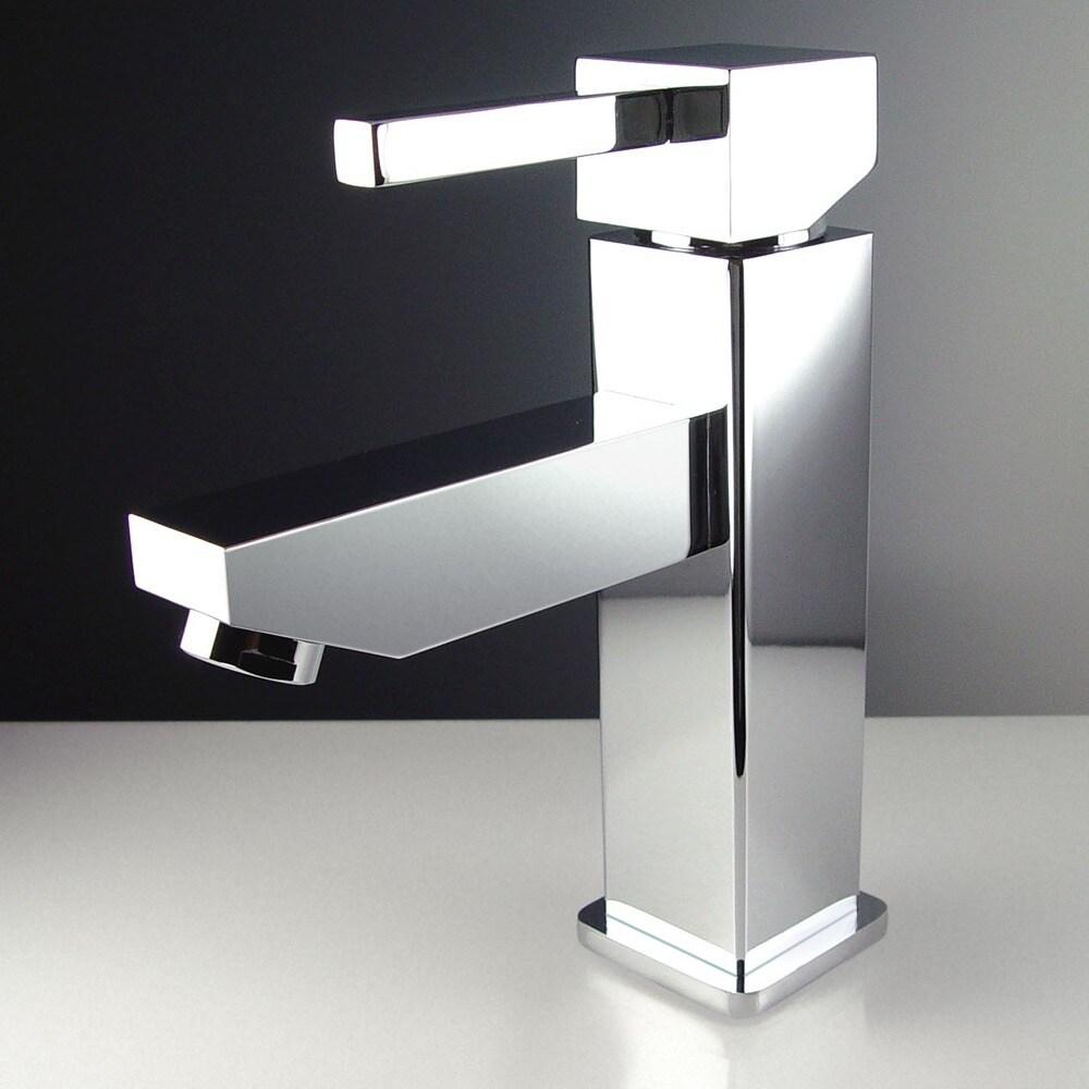 Shop Fresca Bevera Single Hole Mount Chrome Vanity Faucet - Free ...