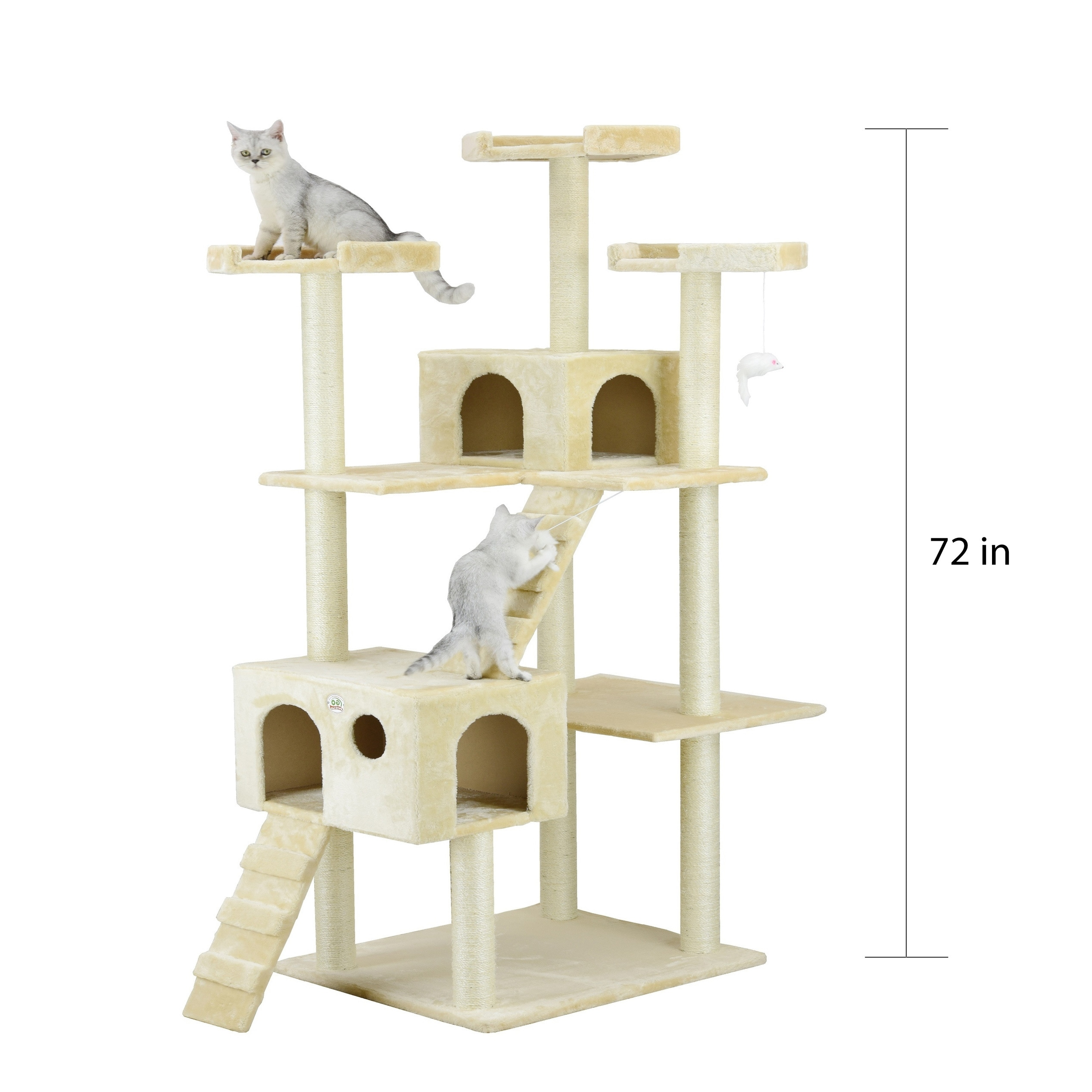 Go Pet Club Jungle Gym Cat Tree Condo and Perch Furniture Shop