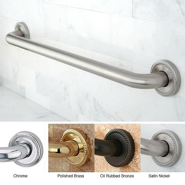 Laurel 36-inch Grab Bar - Free Shipping Today - Overstock.com ...