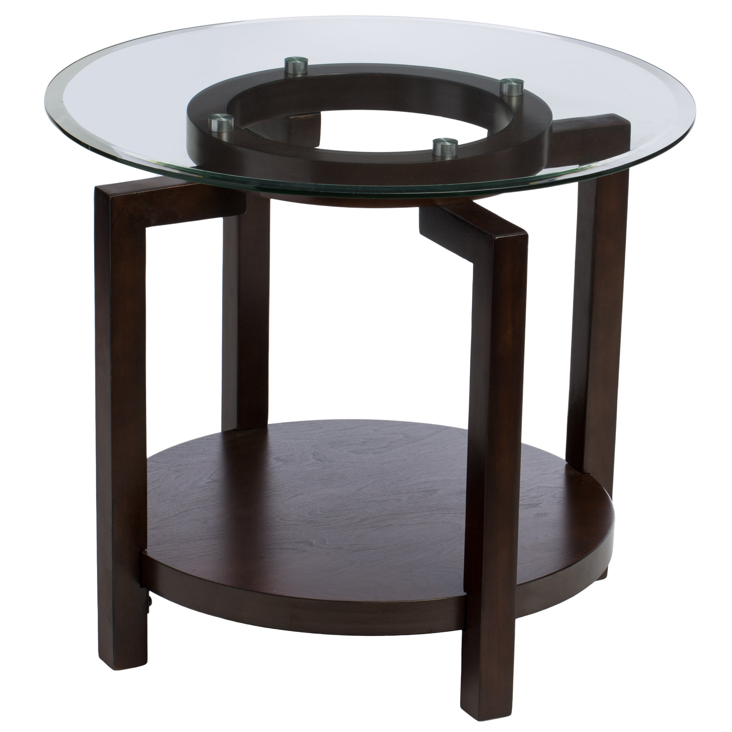 Shop Oliver U0026 James Tanner Espresso End Table   Free Shipping Today    Overstock.com   5230236