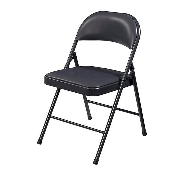 Shop NPS Commercialine Vinyl Padded Folding Chair (Pack Of 4)   On Sale    Free Shipping Today   Overstock.com   5235461