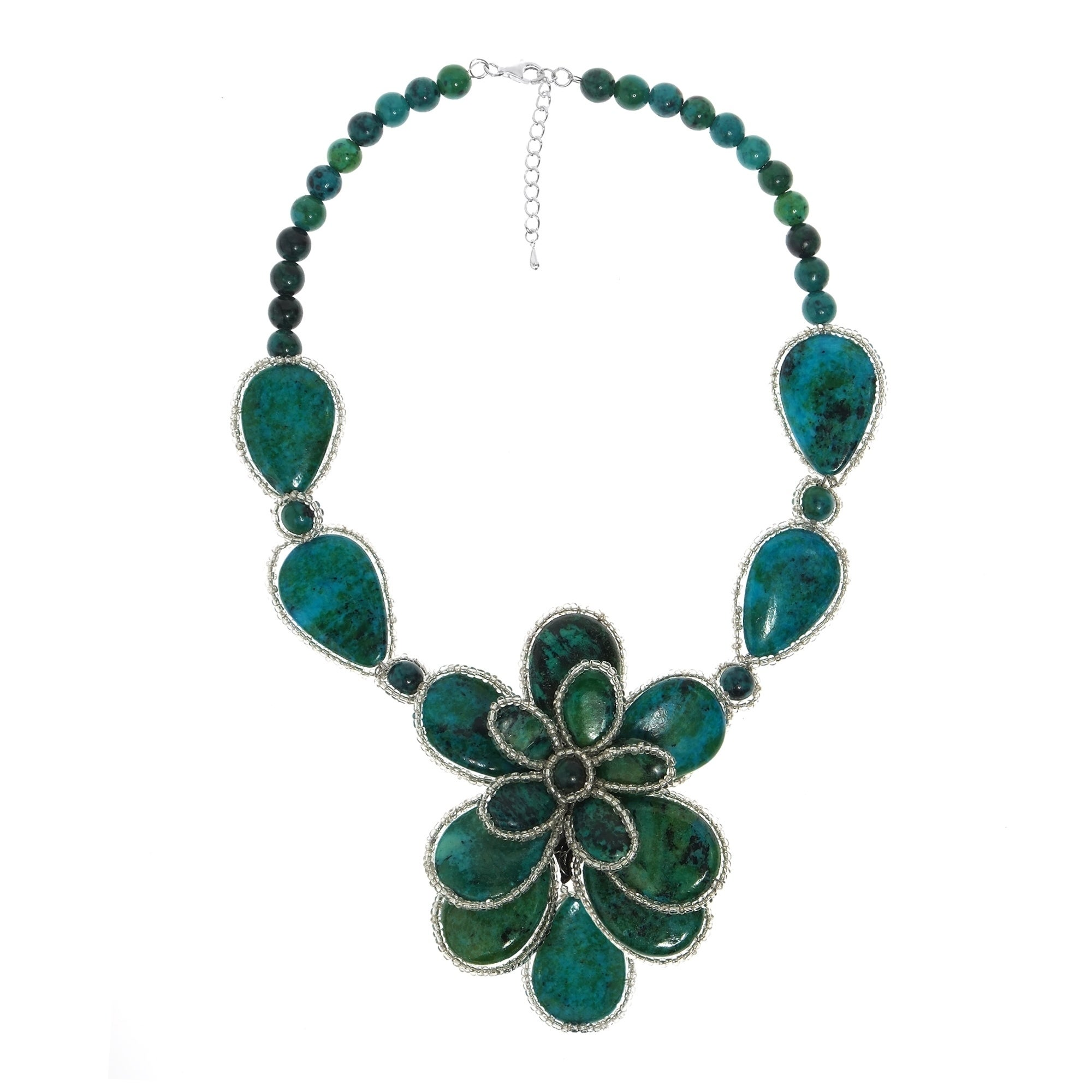 necklace jewelry green onyx morrison margo