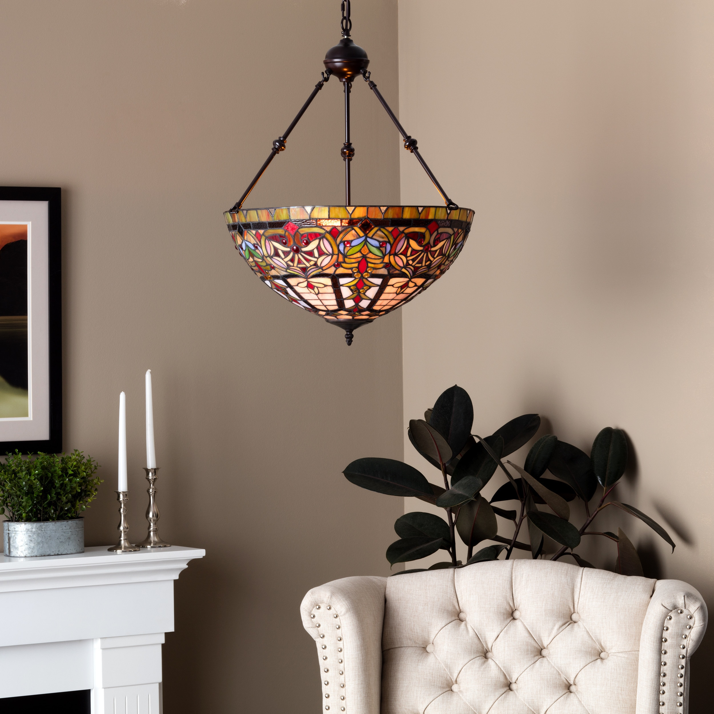 Tiffany style Victorian Chandelier Free Shipping Today