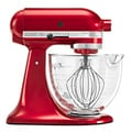 KitchenAid KSM155GBCA Candy Apple Red 5-quart Artisan Tilt-Head Stand Mixer