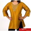 Handmade Women's Viscose Thread Embroidery Kurti/ Tunic (India)