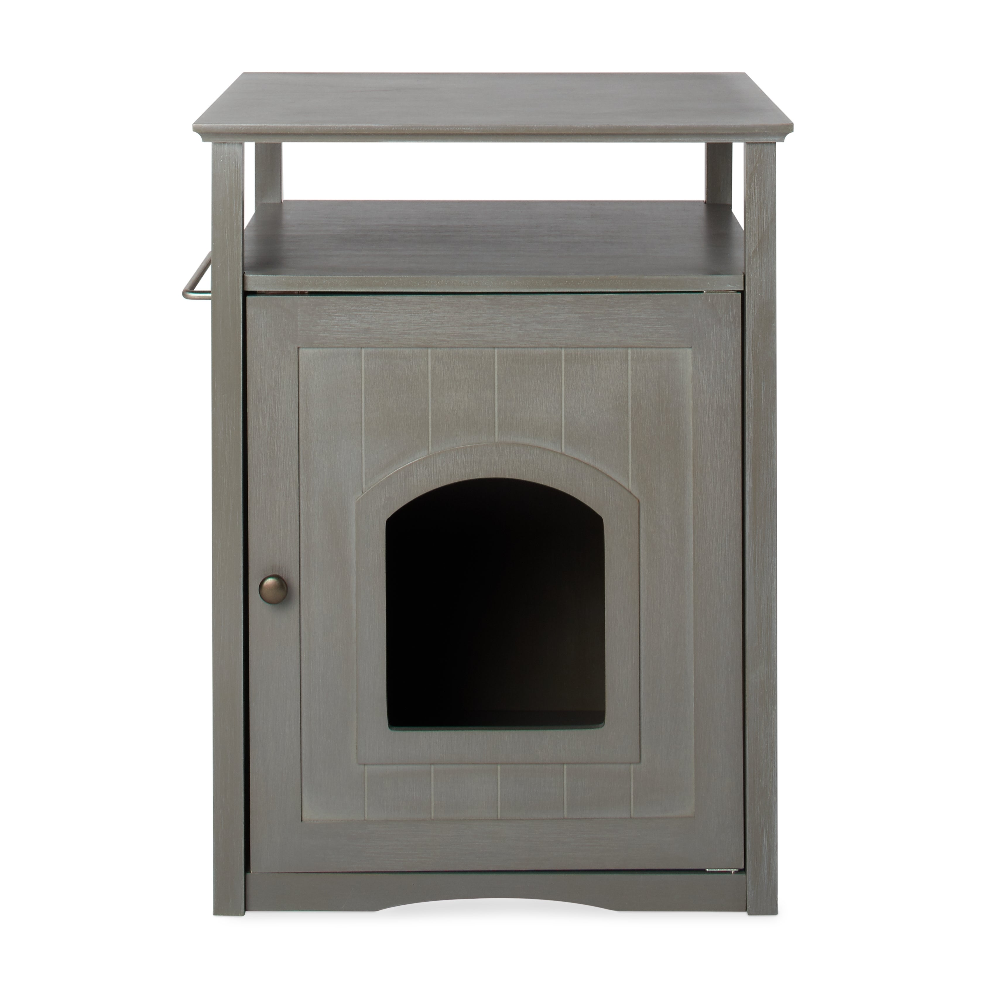 furniture to hide litter box. Merry Products Furniture Hidden Cat Litter Box Enclosure Free To Hide