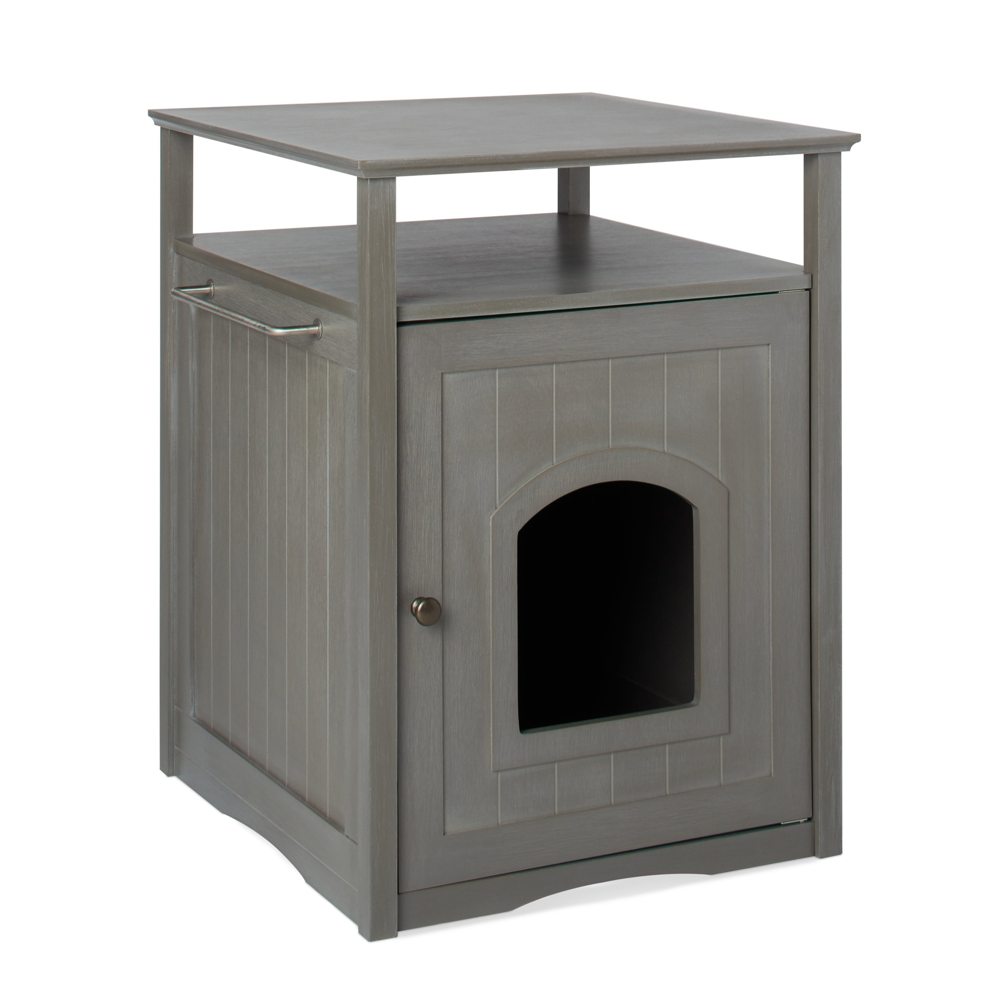Merry Products Furniture Hidden Cat Litter Box Enclosure - Free Shipping  Today - Overstock.com - 13110966
