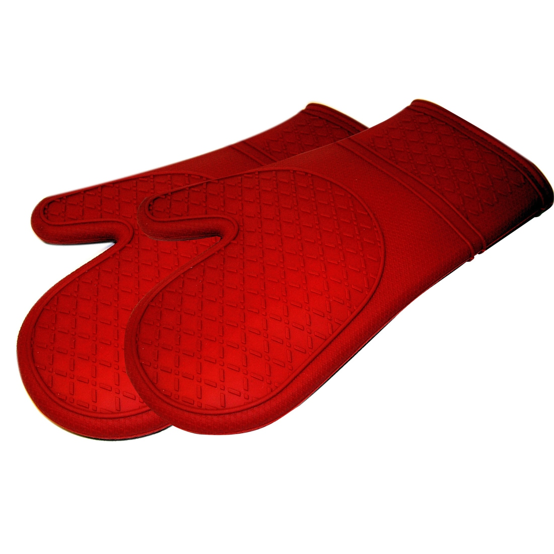 Genial Shop Le Chef Ultra Flex Silicone Padded Kitchen Oven Mitt Set (Pack Of 2)    Free Shipping On Orders Over $45   Overstock.com   5307056