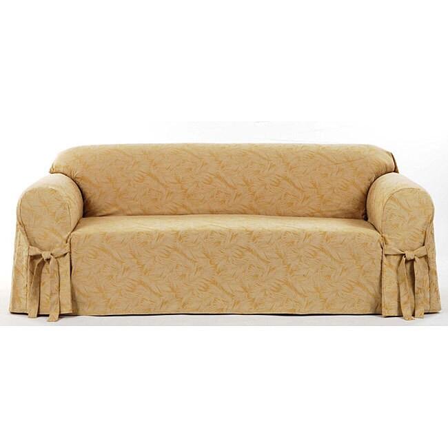 Clic Slipcovers Bell Jacquard Sofa Slipcover Free Shipping Today 5316210