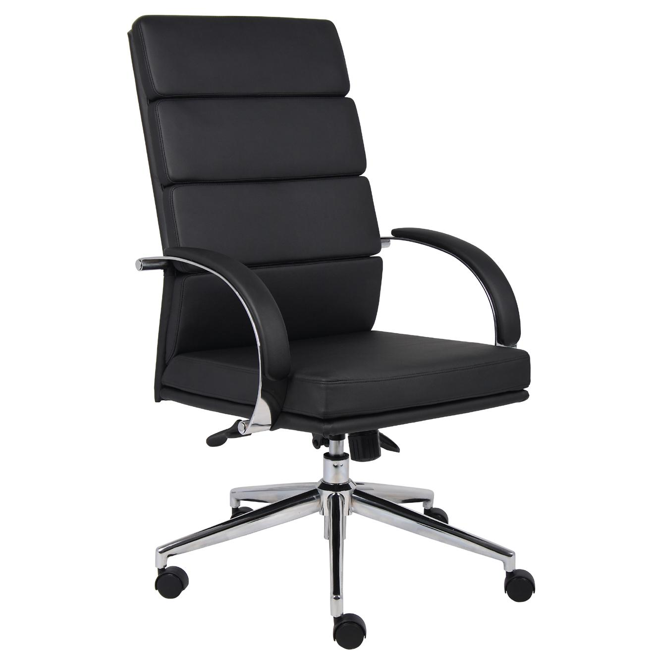 Boss Contemporary High Back Executive Chair Free Shipping Today 5323756