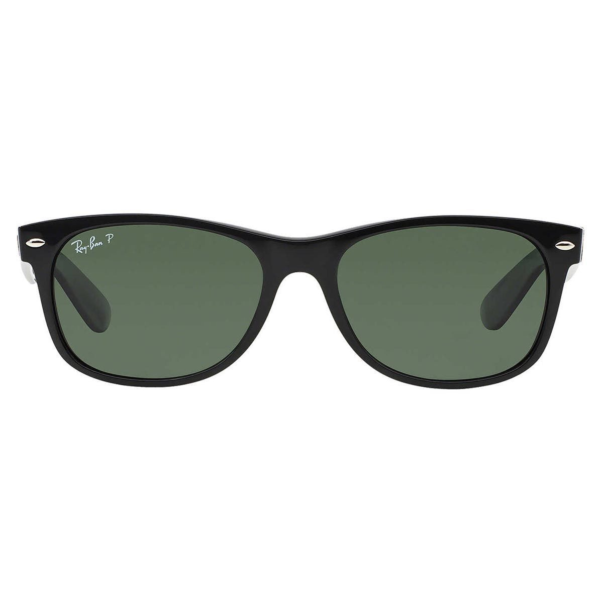 Shop Ray-Ban New Wayfarer RB2132 Polarized Sunglasses - Black - Free  Shipping Today - Overstock.com - 5329325