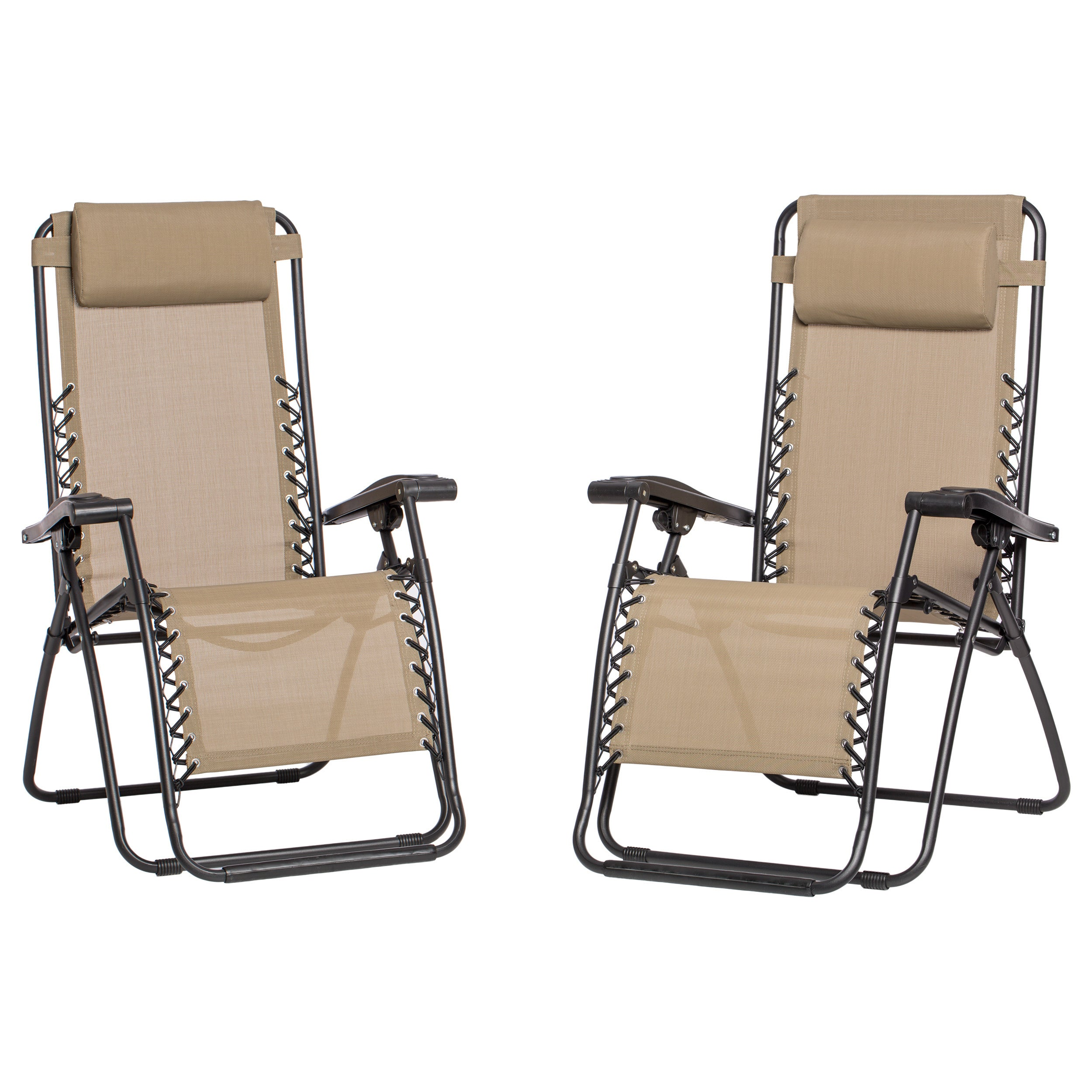 Caravan Canopy Beige Zero-Gravity Chairs (Set of 2) - Free Shipping Today - Overstock.com - 13137965  sc 1 st  Overstock.com & Caravan Canopy Beige Zero-Gravity Chairs (Set of 2) - Free ...