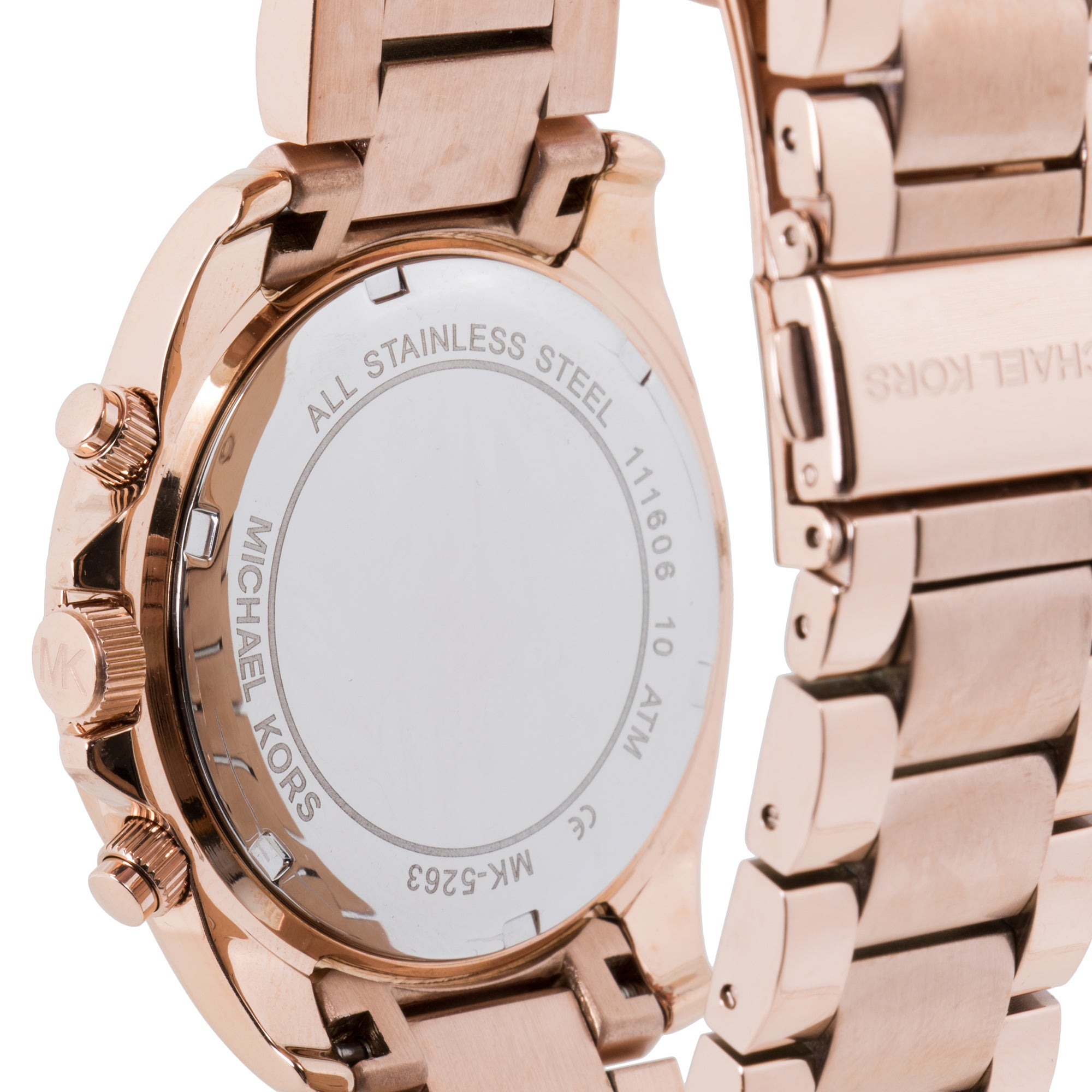 2ab306a84 Shop Michael Kors Women's MK5263 'Blair' Rose Gold-Tone Chronograph Watch -  Free Shipping Today - Overstock - 5336896