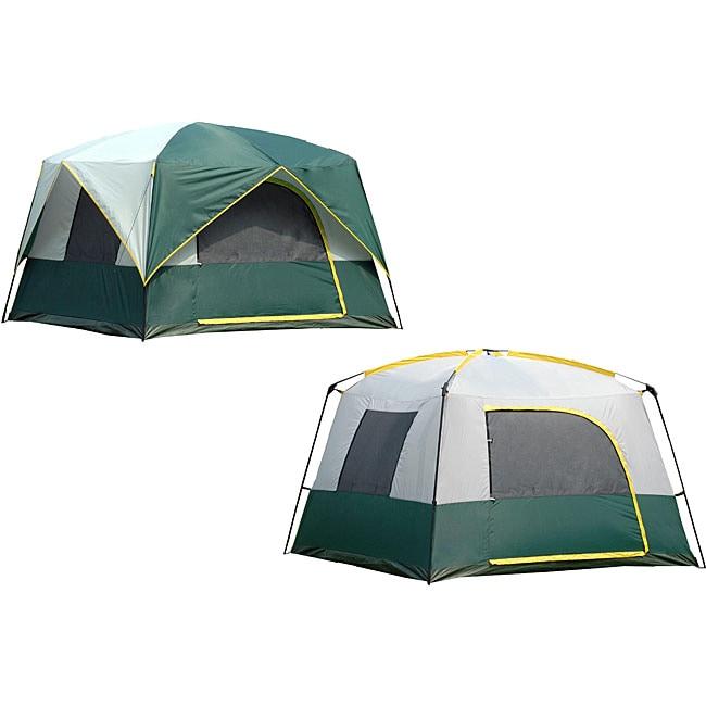 Bear Mountain 8x8 Cabin Tent  sc 1 st  Overstock.com & Bear Mountain 8x8 Cabin Tent - Free Shipping Today - Overstock.com ...
